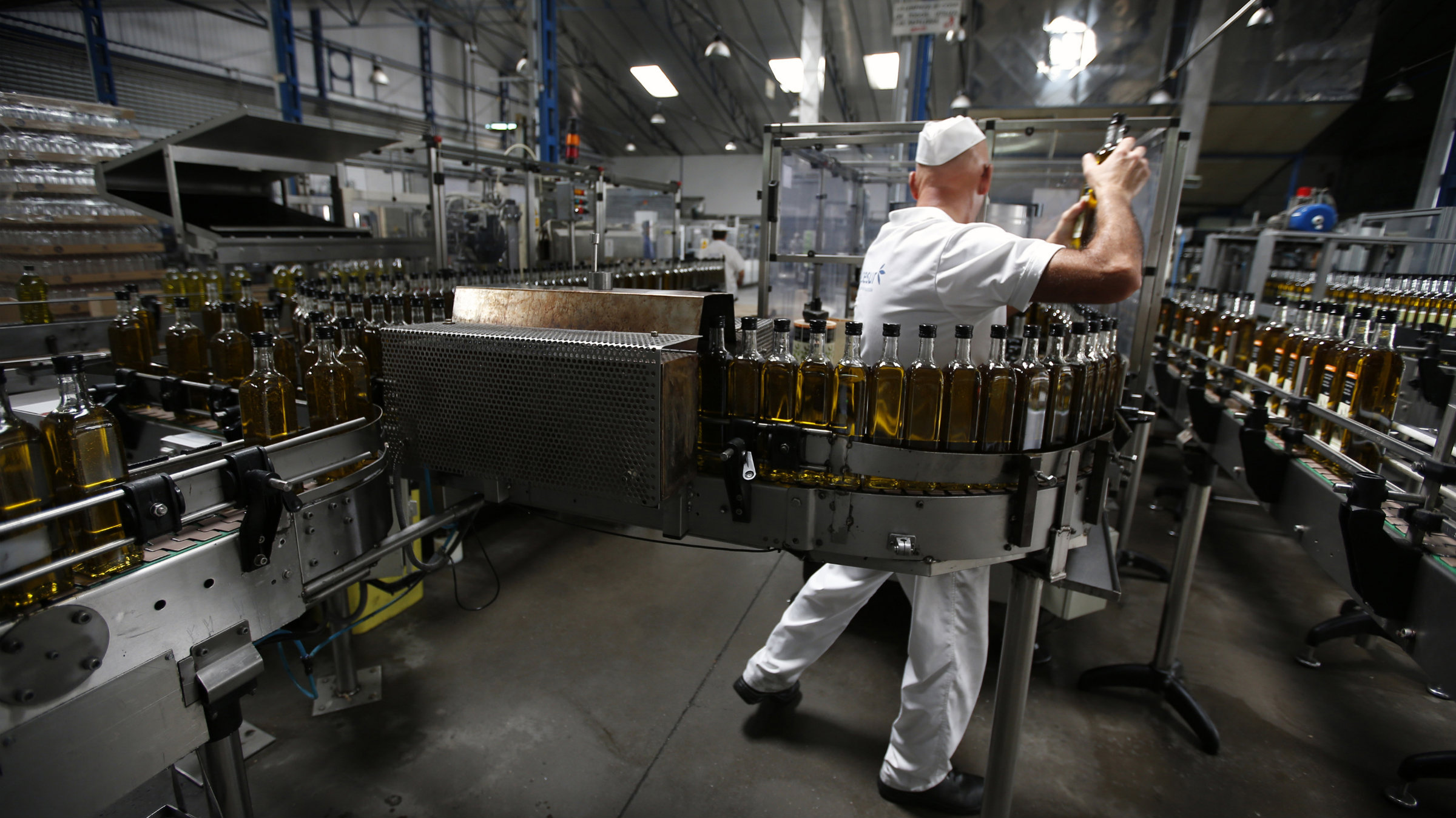 Spain is the world's largest olive oil producer, and sales are picking up.