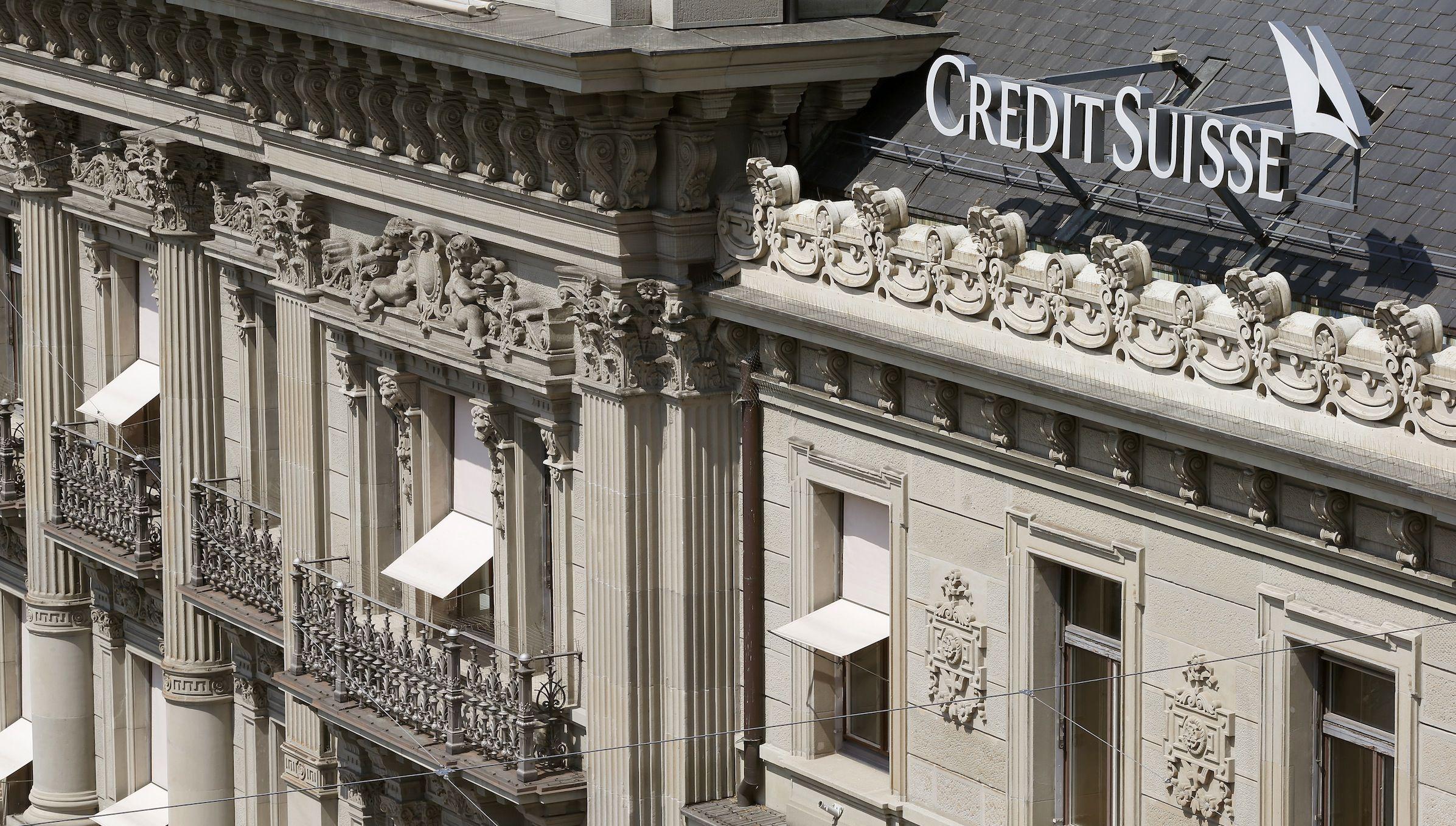 Credit Suisse office building