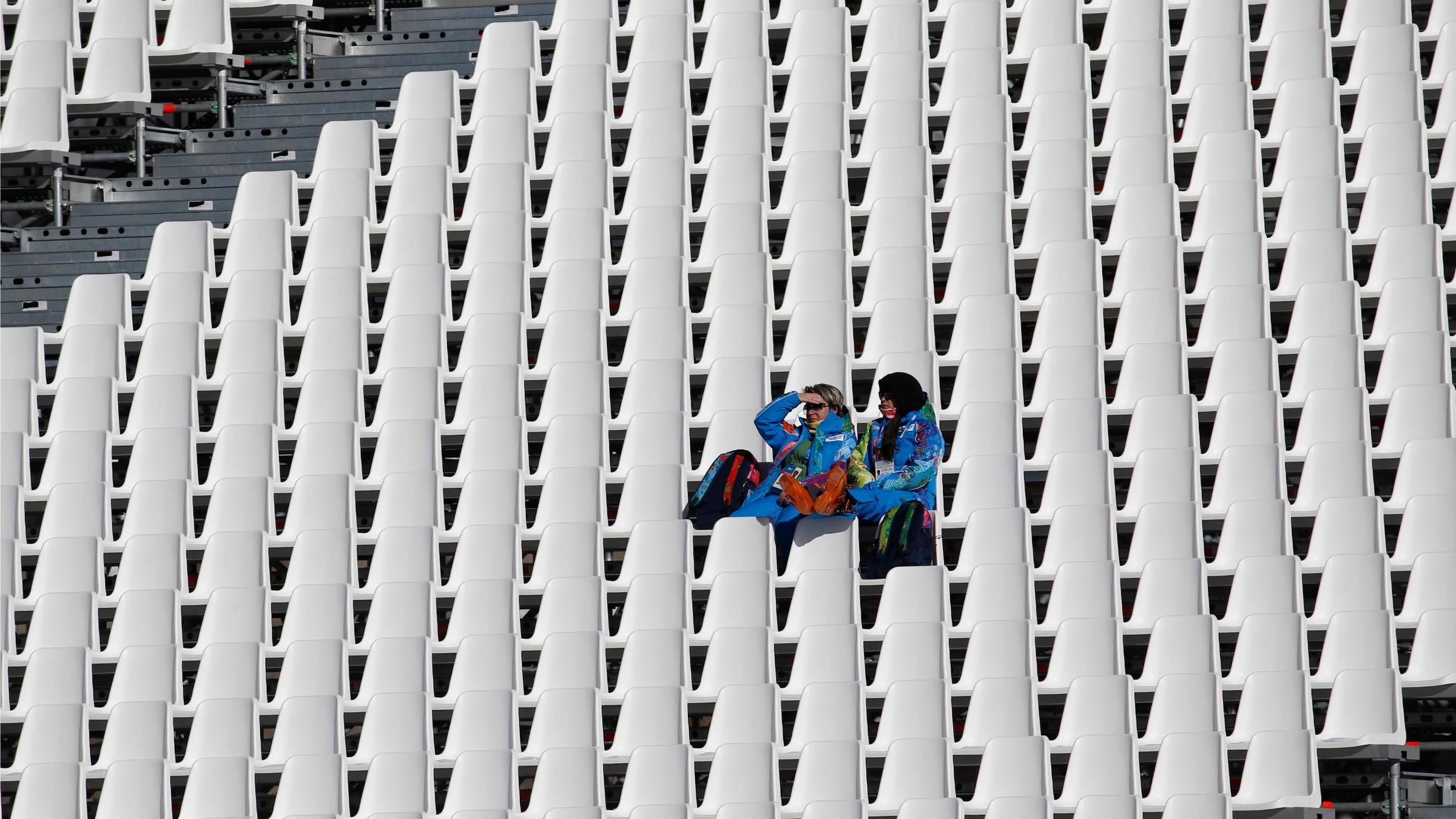 Sochi empty seats