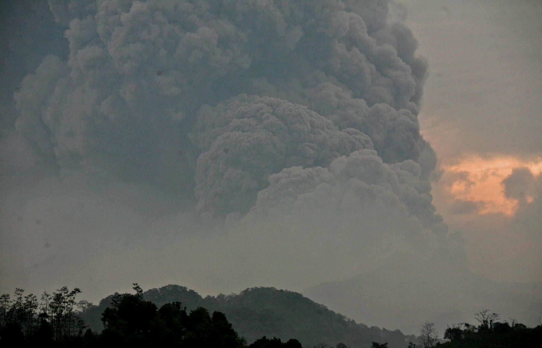 Volcano Mount Kelud