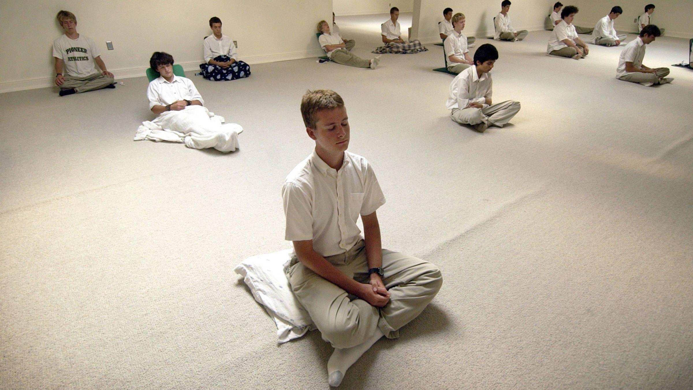 Meditation makes children smarter