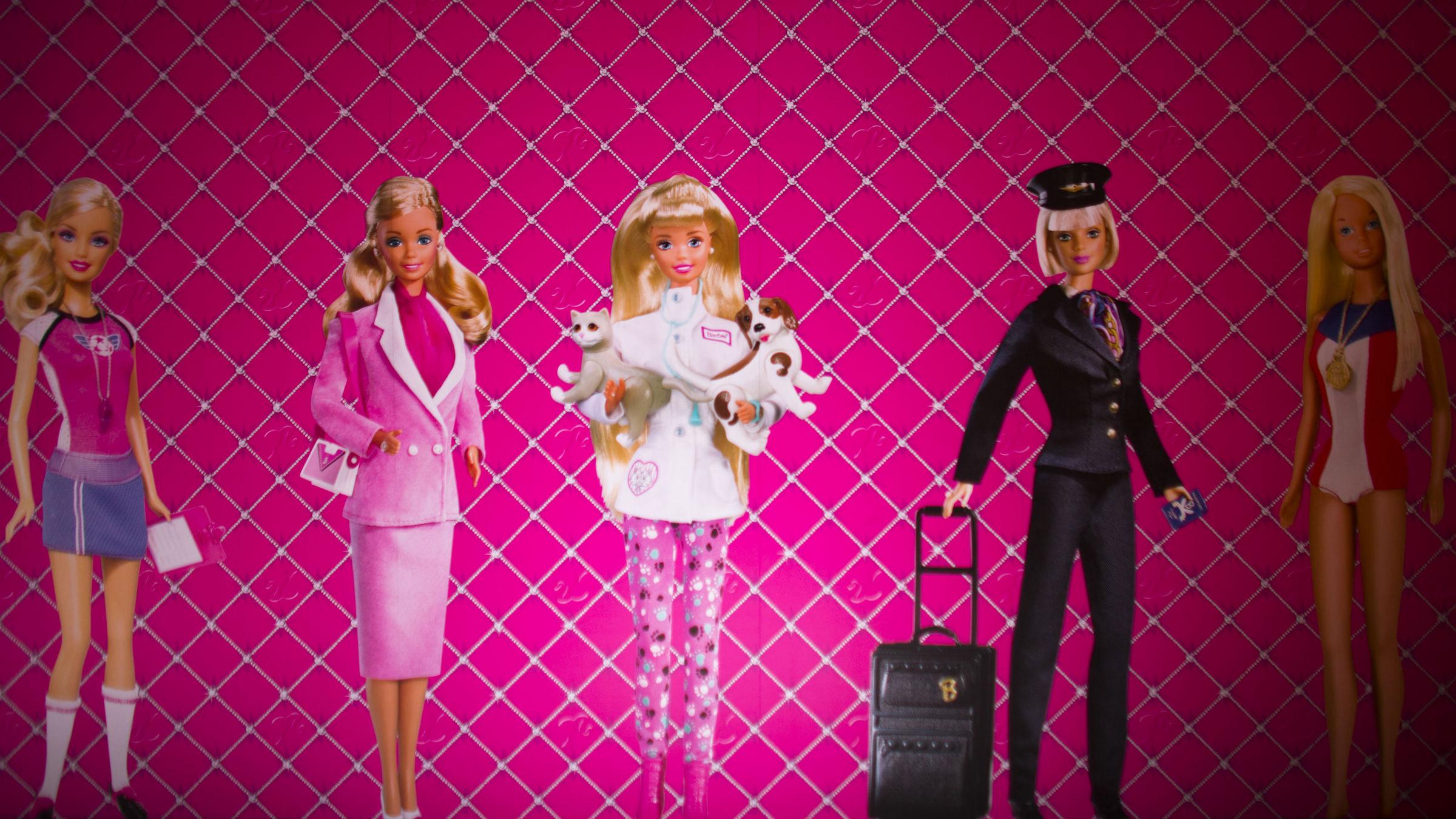 Career Barbie doesn't make career girl.