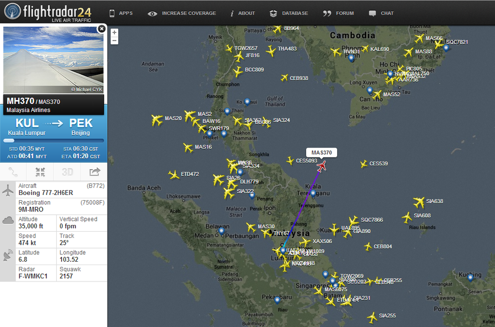 Malaysia Airlines' missing flight is the latest sign of a safety