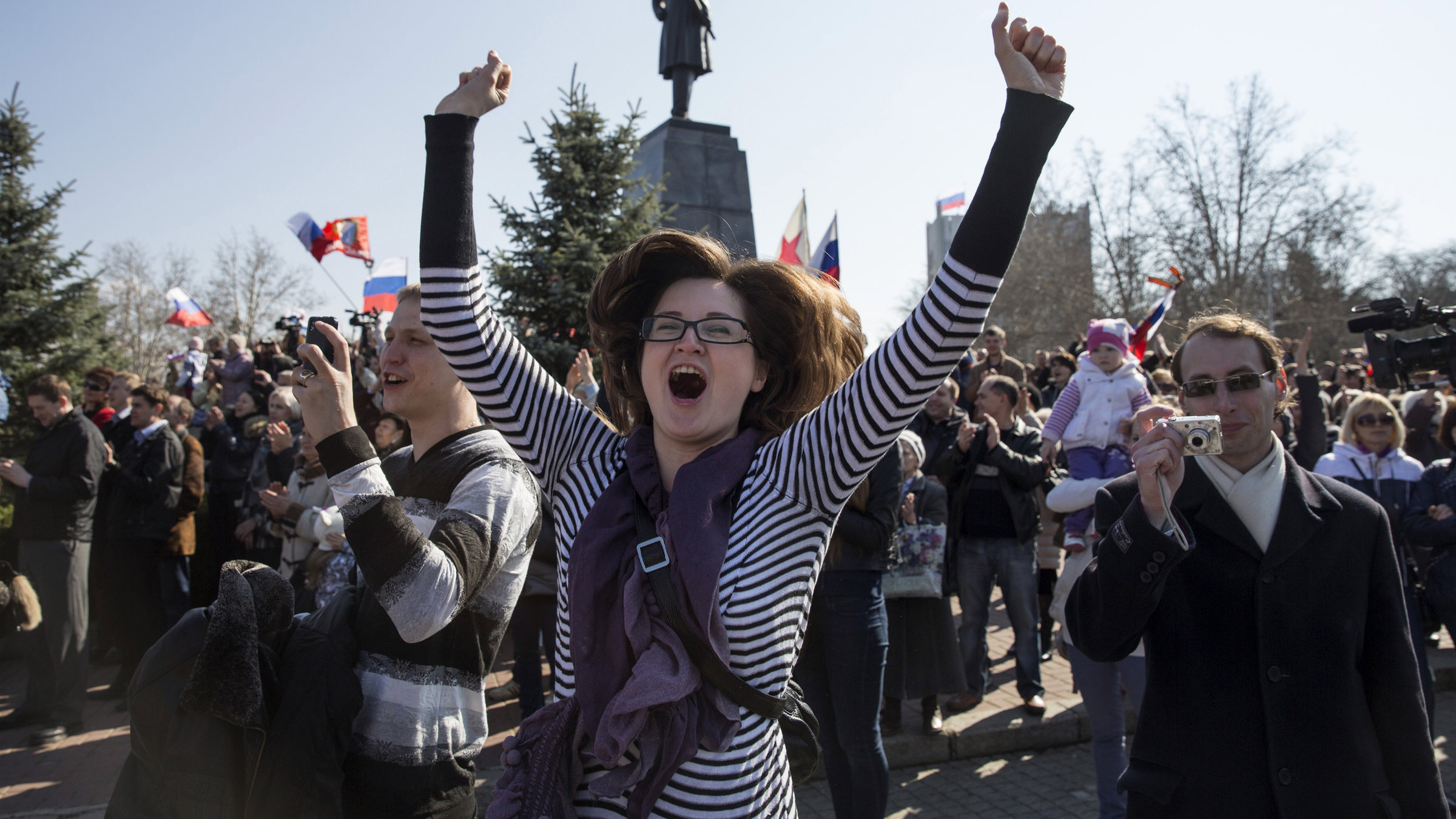 Russians aren't lamenting the end of the old world order.