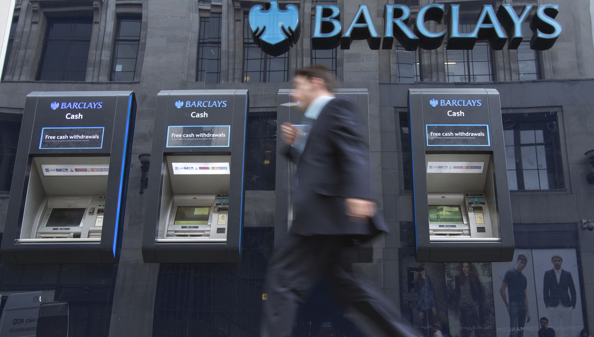 Barclays ATMs in Europe