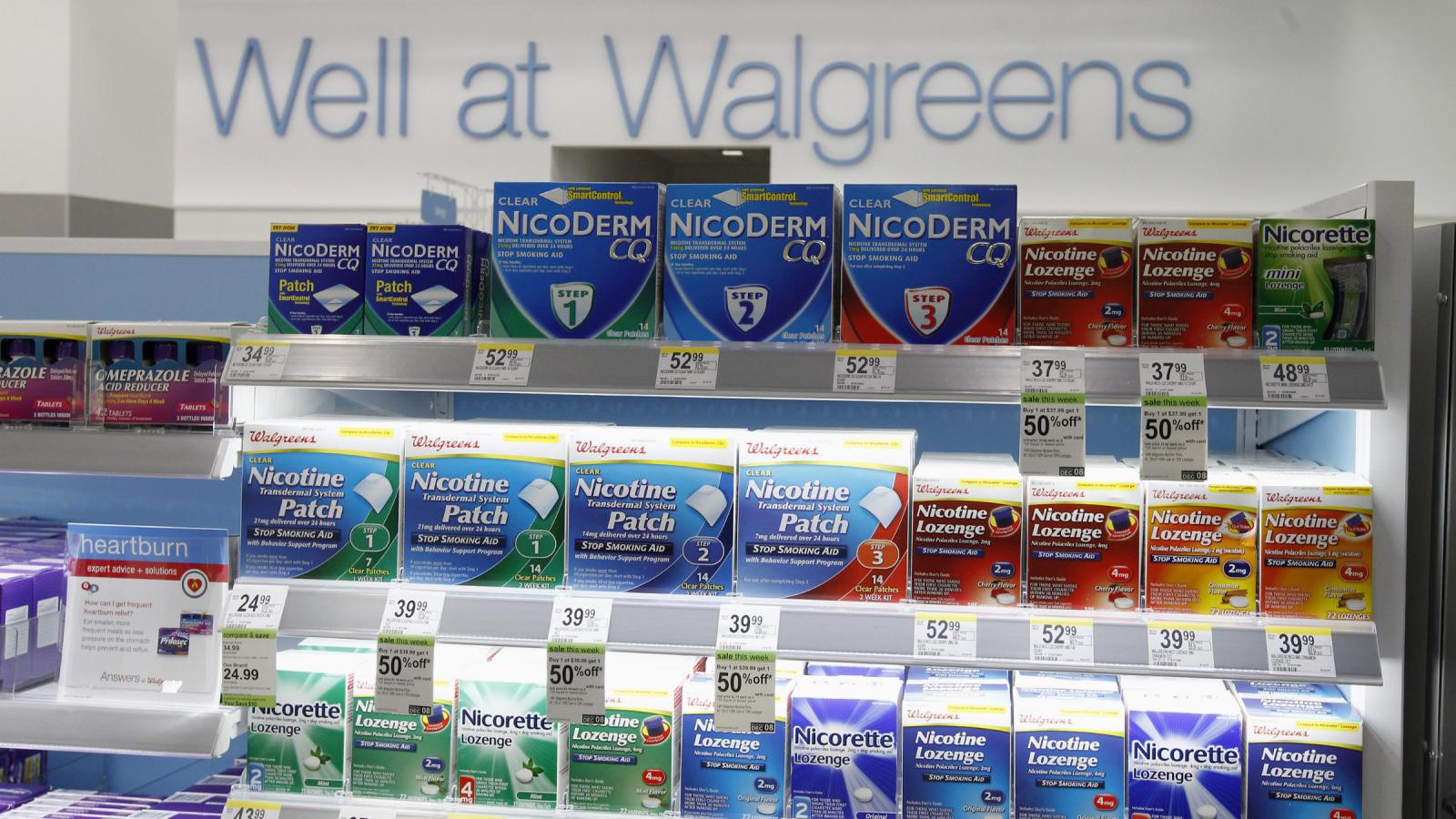Walgreens wants to help you quit smoking—just not enough to