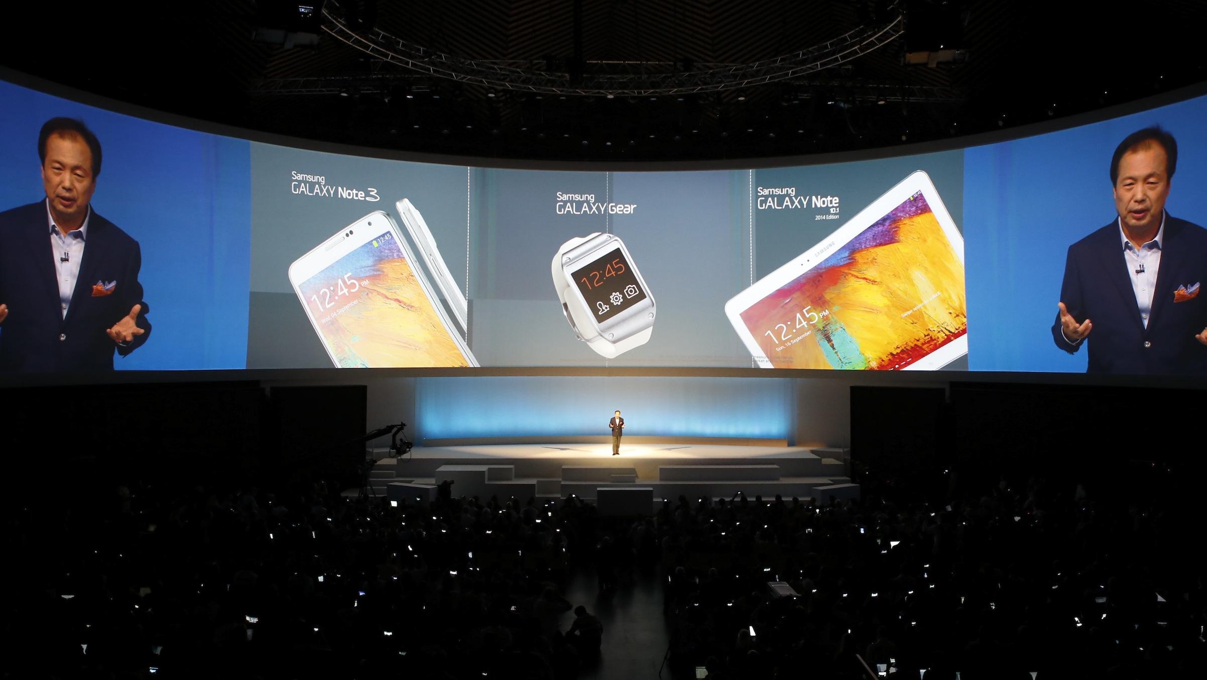 Samsung executive