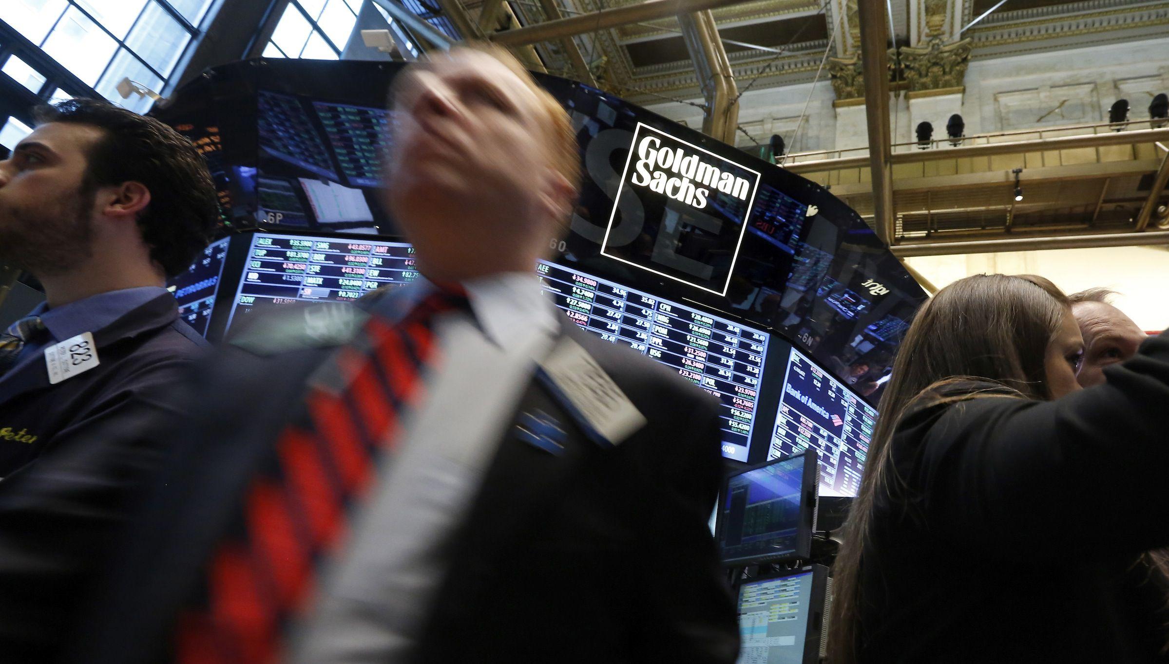 Goldman Sachs bond traders