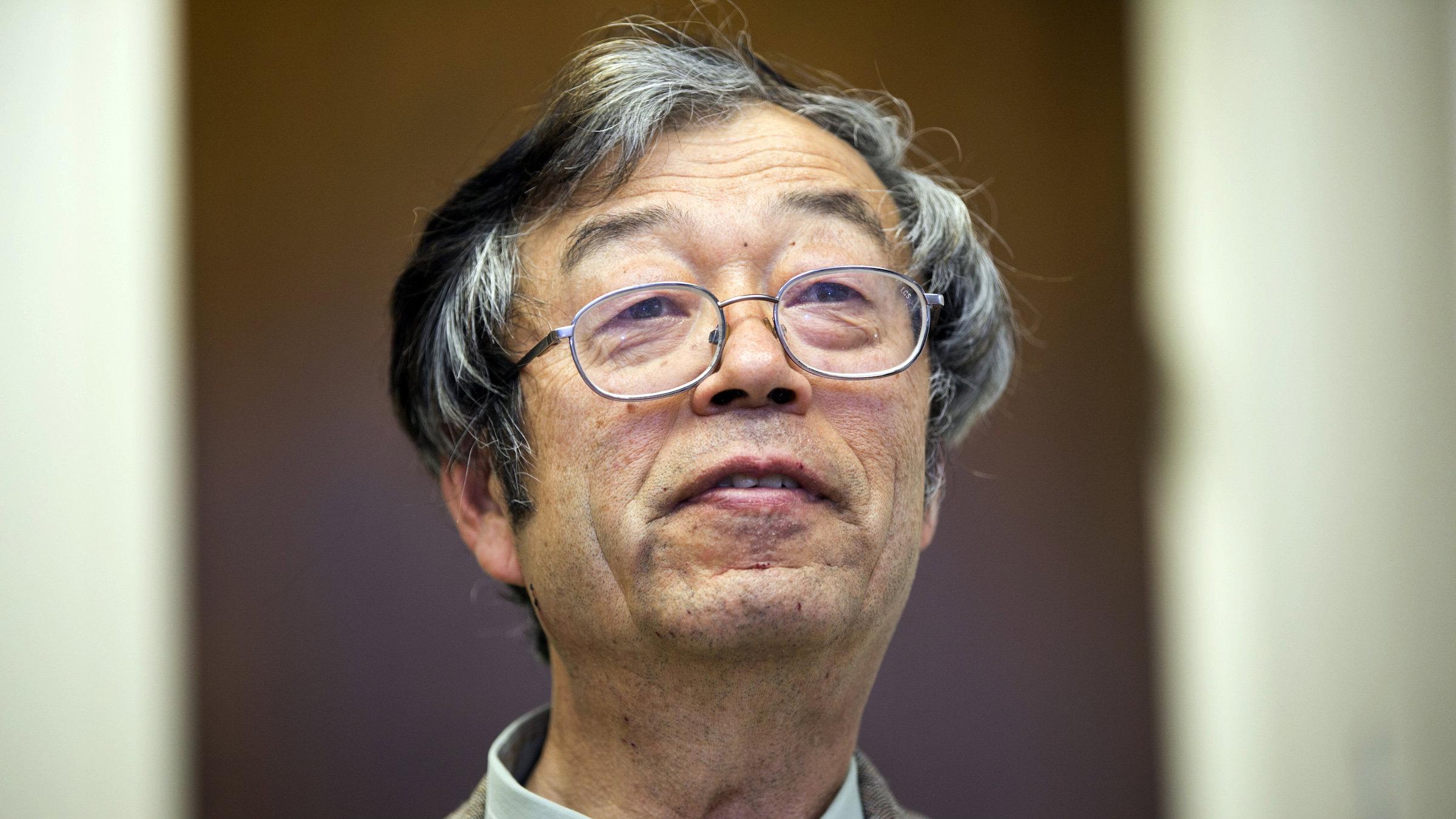 Satoshi Nakamoto statue