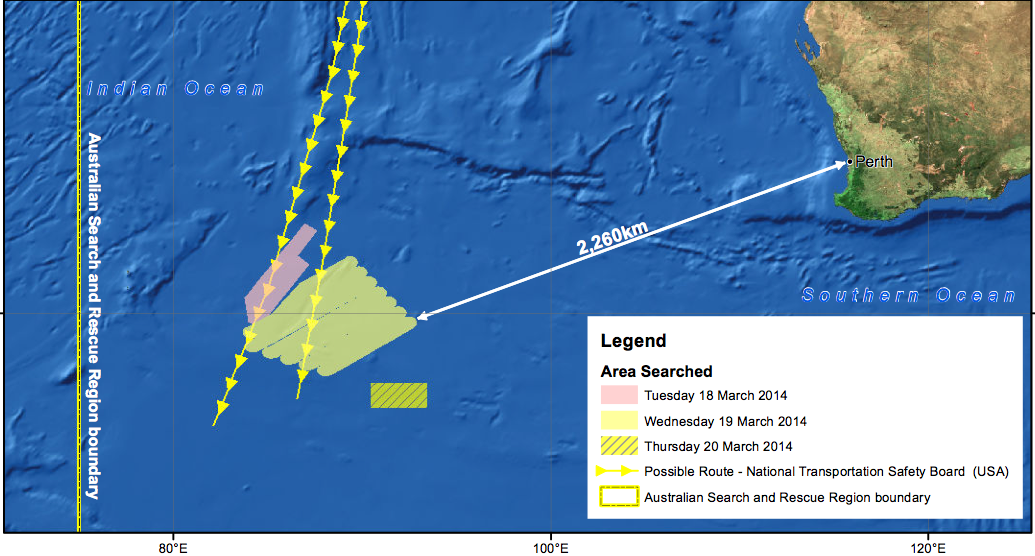The Australians may have found MH370 debris in a desolate patch of