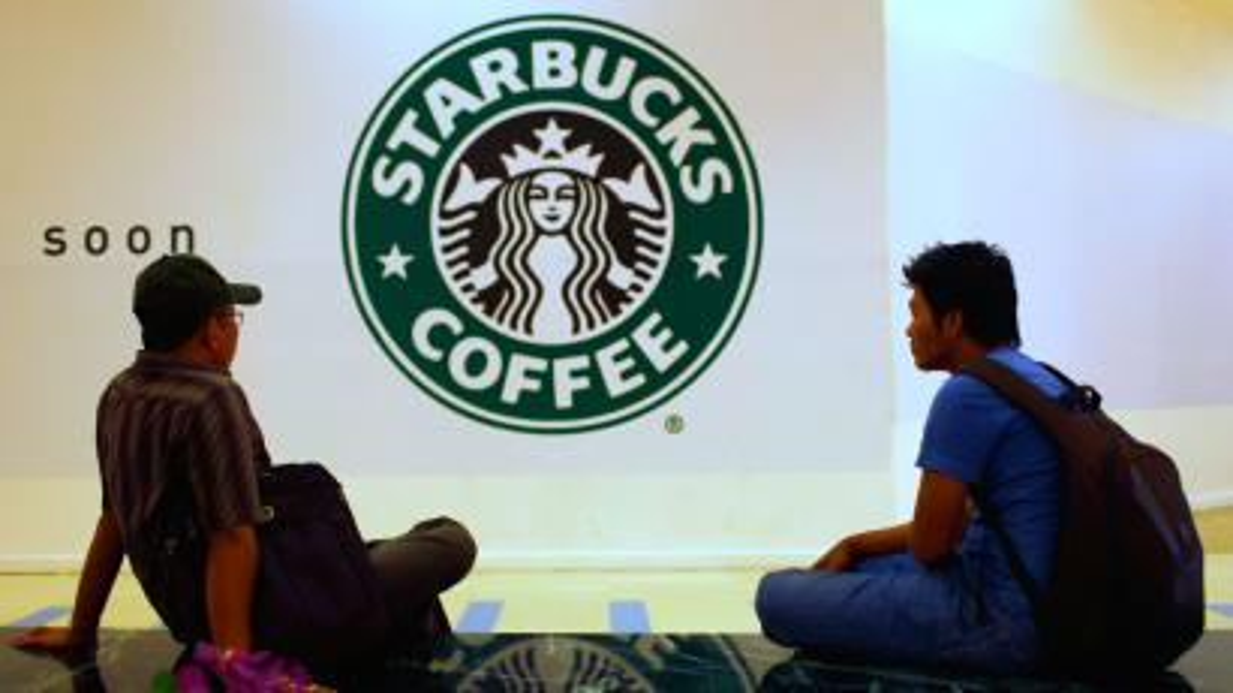 Starbucks coffee shop opening
