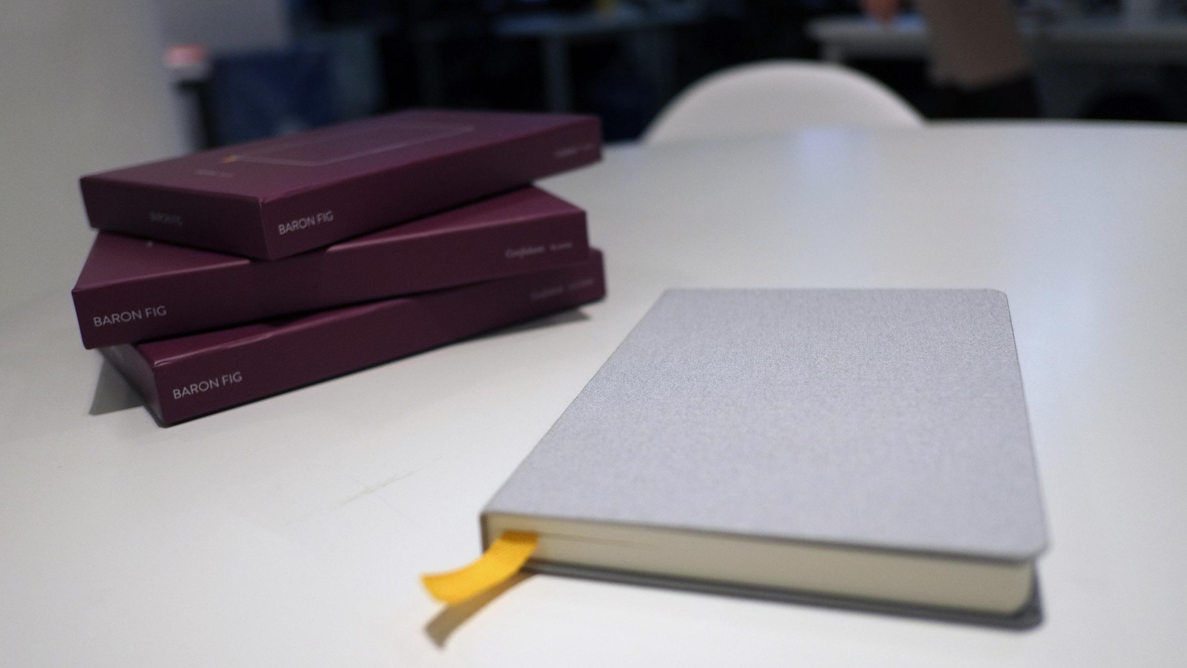 The Baron Fig Confidant 1 notebook