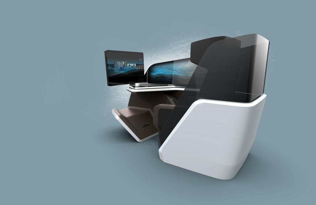 future airline seat