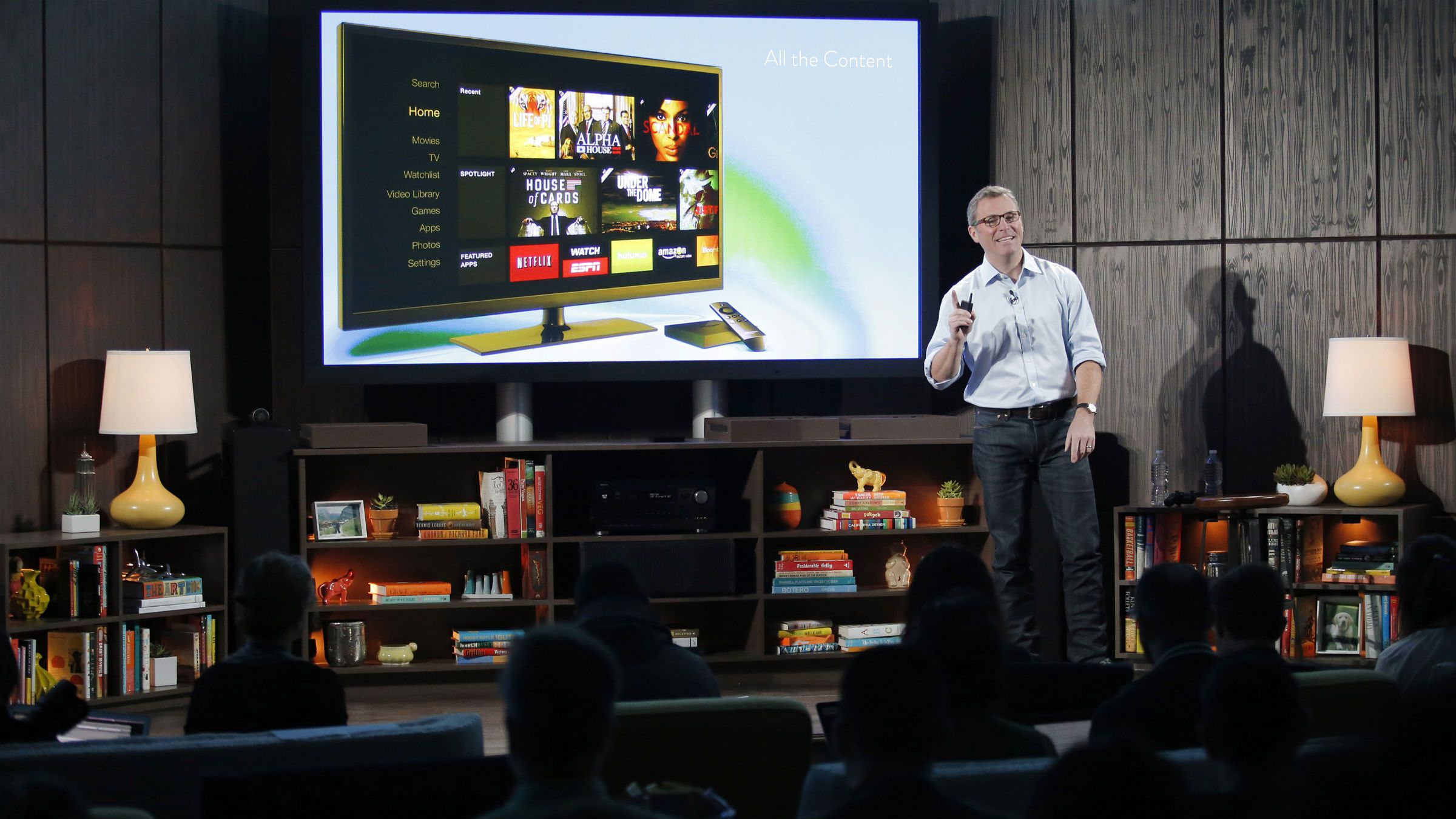 With Fire TV, Amazon is ready to fight for your living room — Quartz
