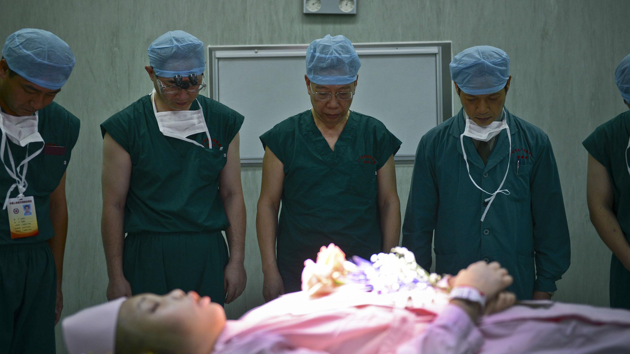china organ transplant