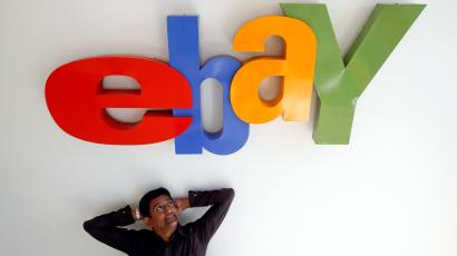 Muralikrishnan B., eBay India's Country Manager, poses for a photo at the company's head office in Mumbai April 26, 2012. EBay Inc is stepping up investment in India to boost its share of a market dominated by domestic players such as Flipkart and fend off encroachment from arch-rival Amazon.com. Picture taken April 26.