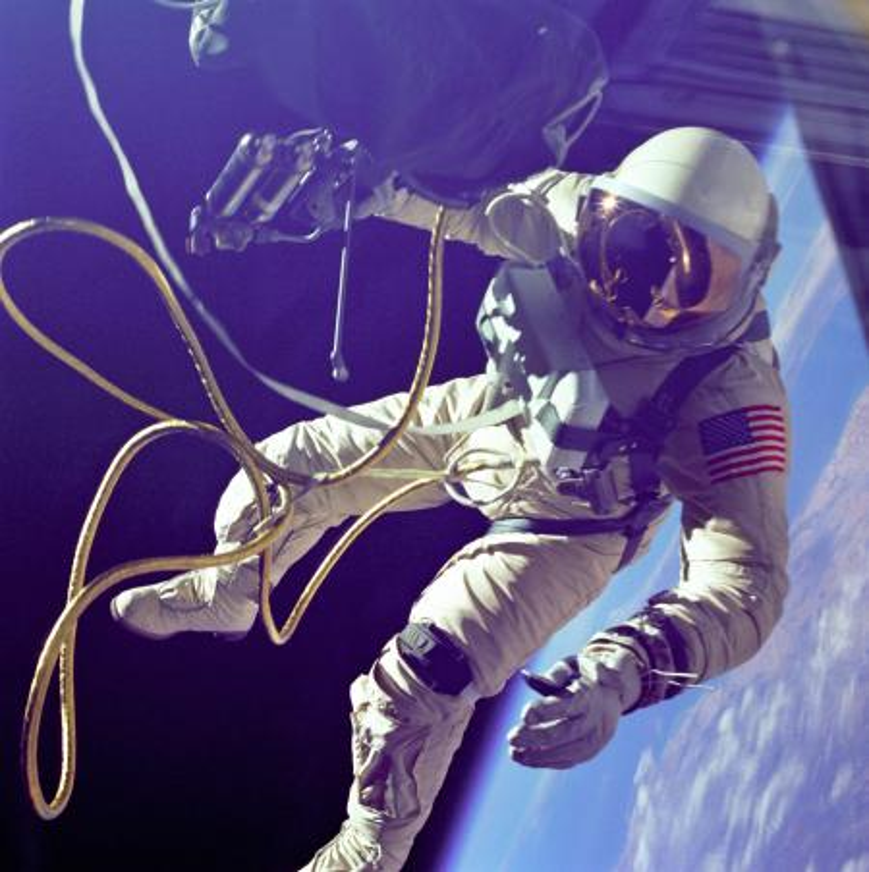 Gemini spacewalk - astronaut Ed White