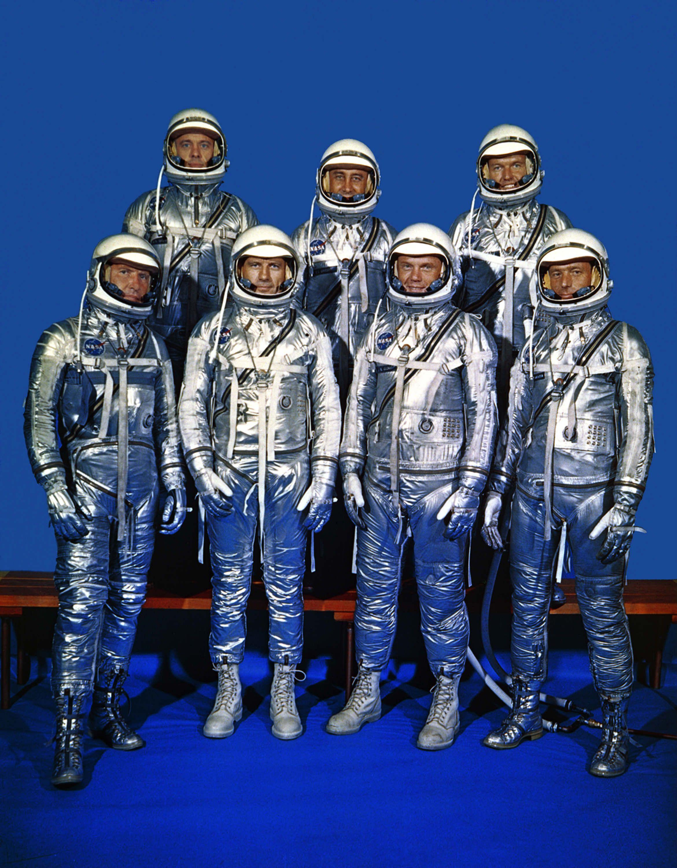 Mercury astronauts spacesuit