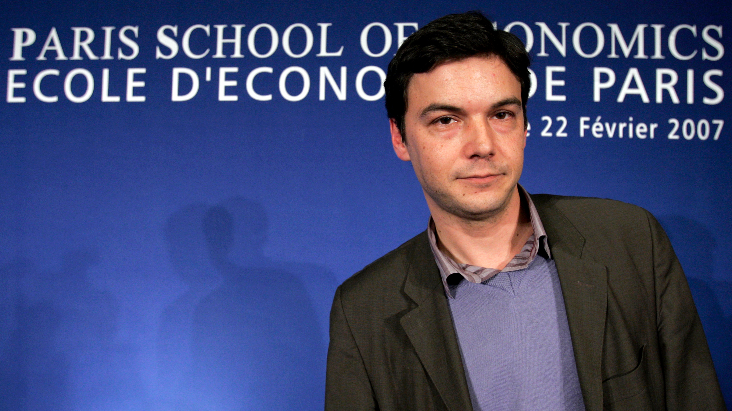 Thomas Piketty, director of the Paris School of Economics (PSE), attends the inauguration of the school in Paris, February 22, 2007.