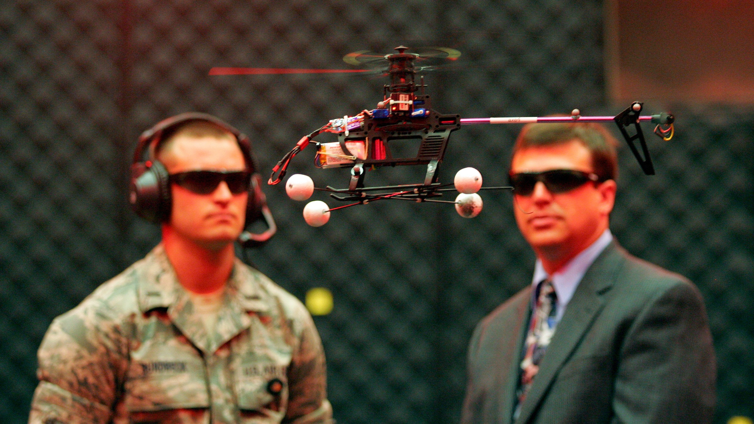 US drones will have a cool reception.