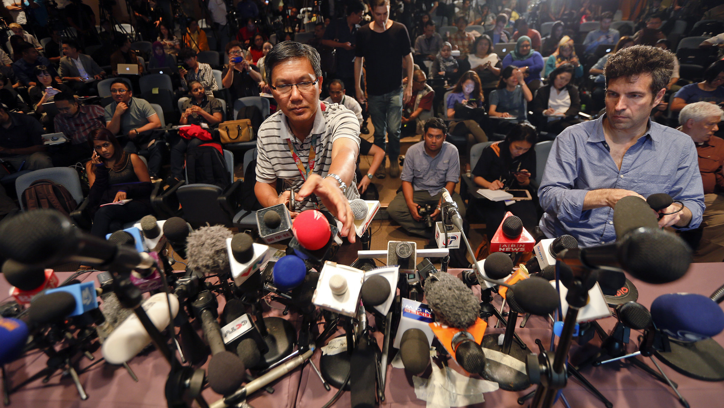 CNN wasn't the only media outlet covering MH370, just the most tenacious one.