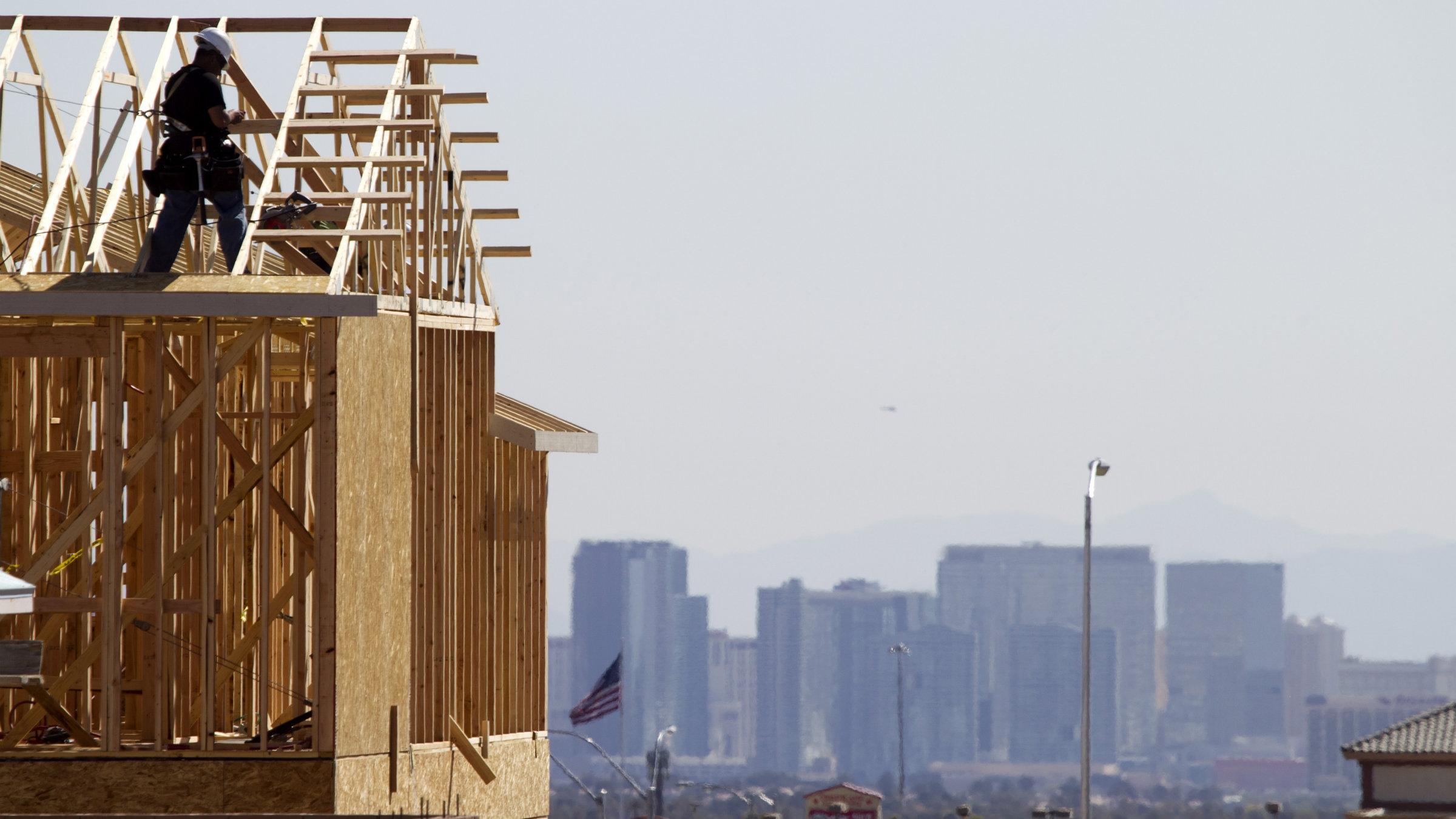 House building city skyline