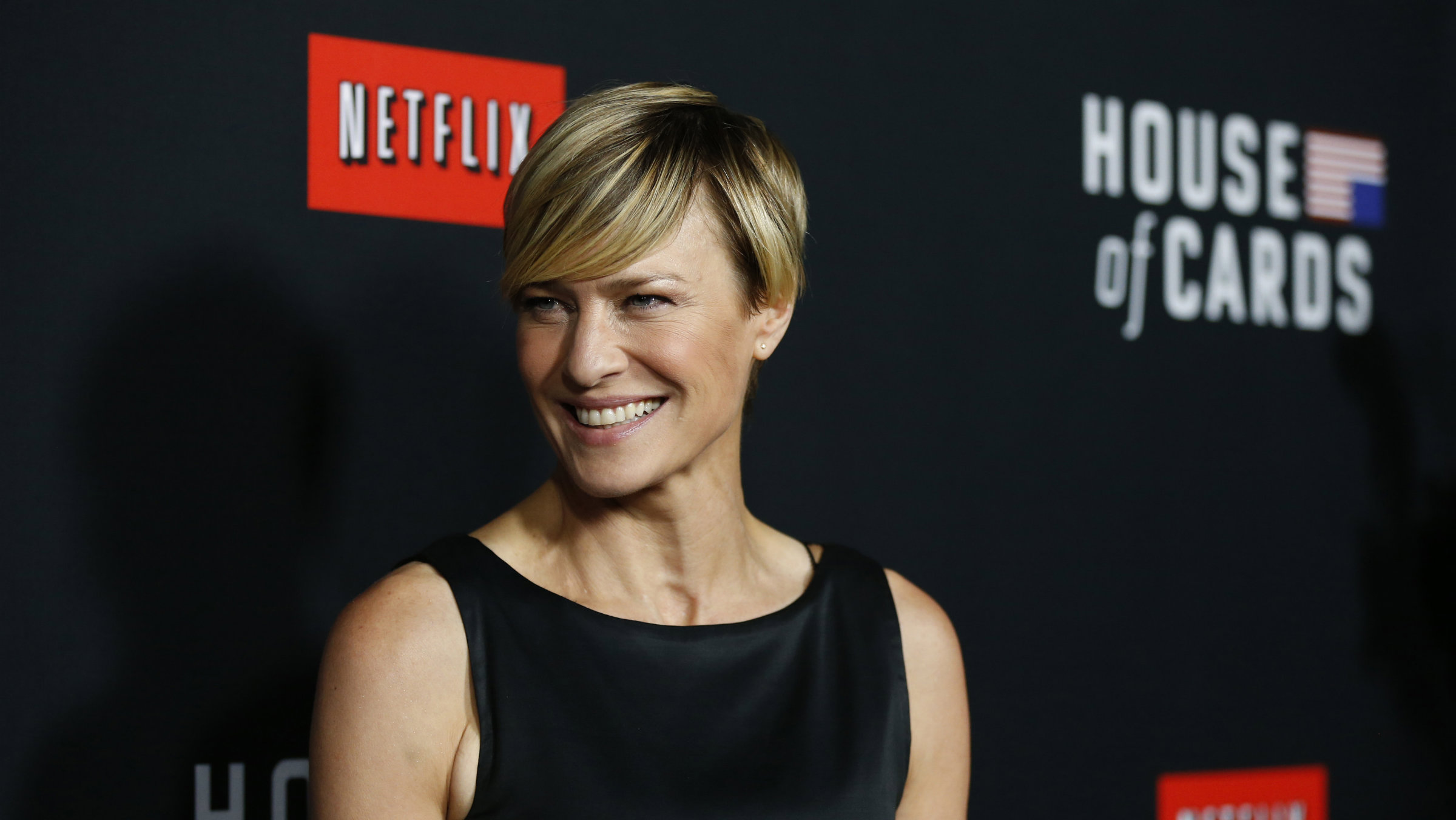 Robin Wright, star of Netflix's House of Cards.