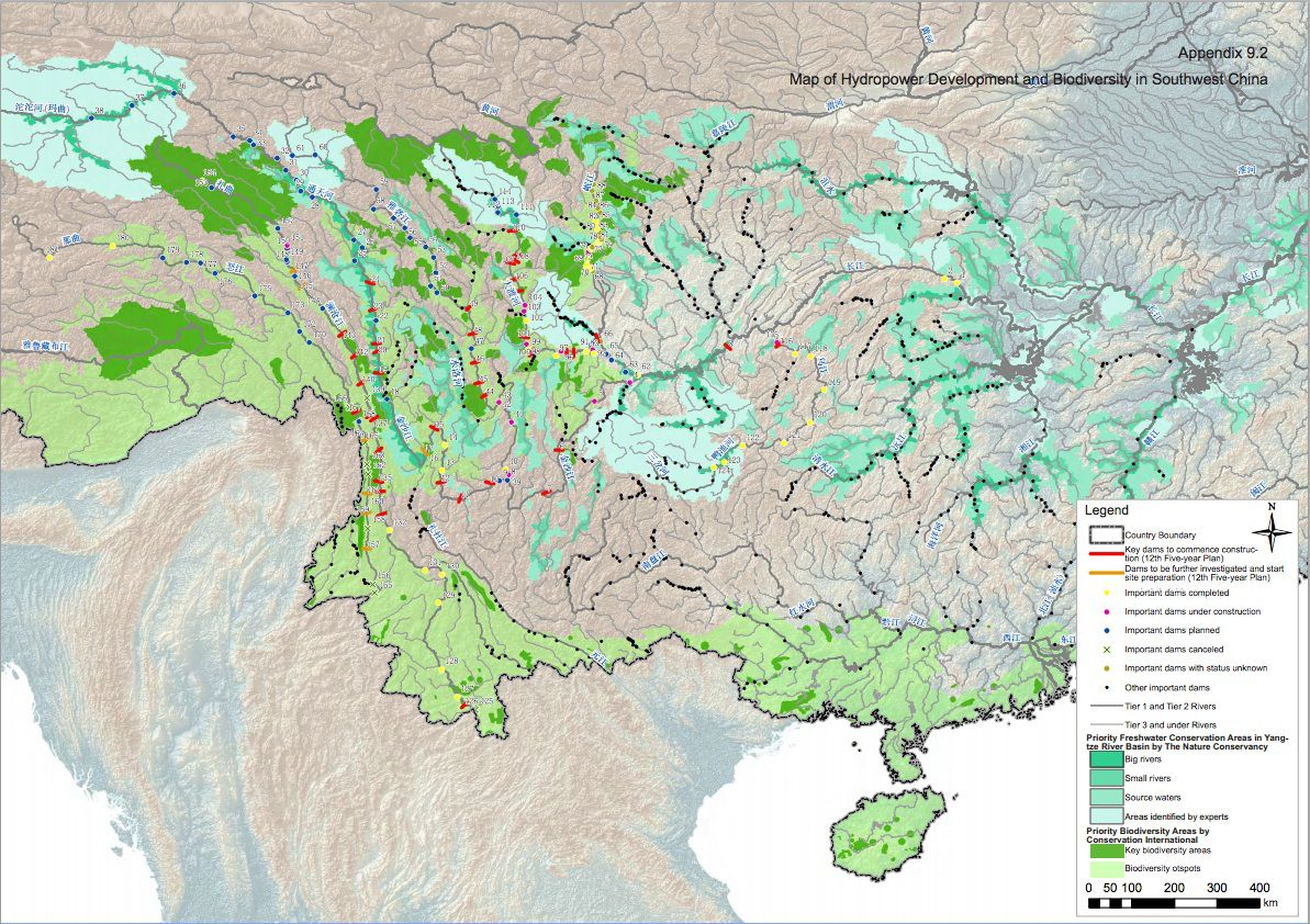 Map Of China And Surrounding Areas.China S Addiction To Hydropower In Two Dam Maps Quartz