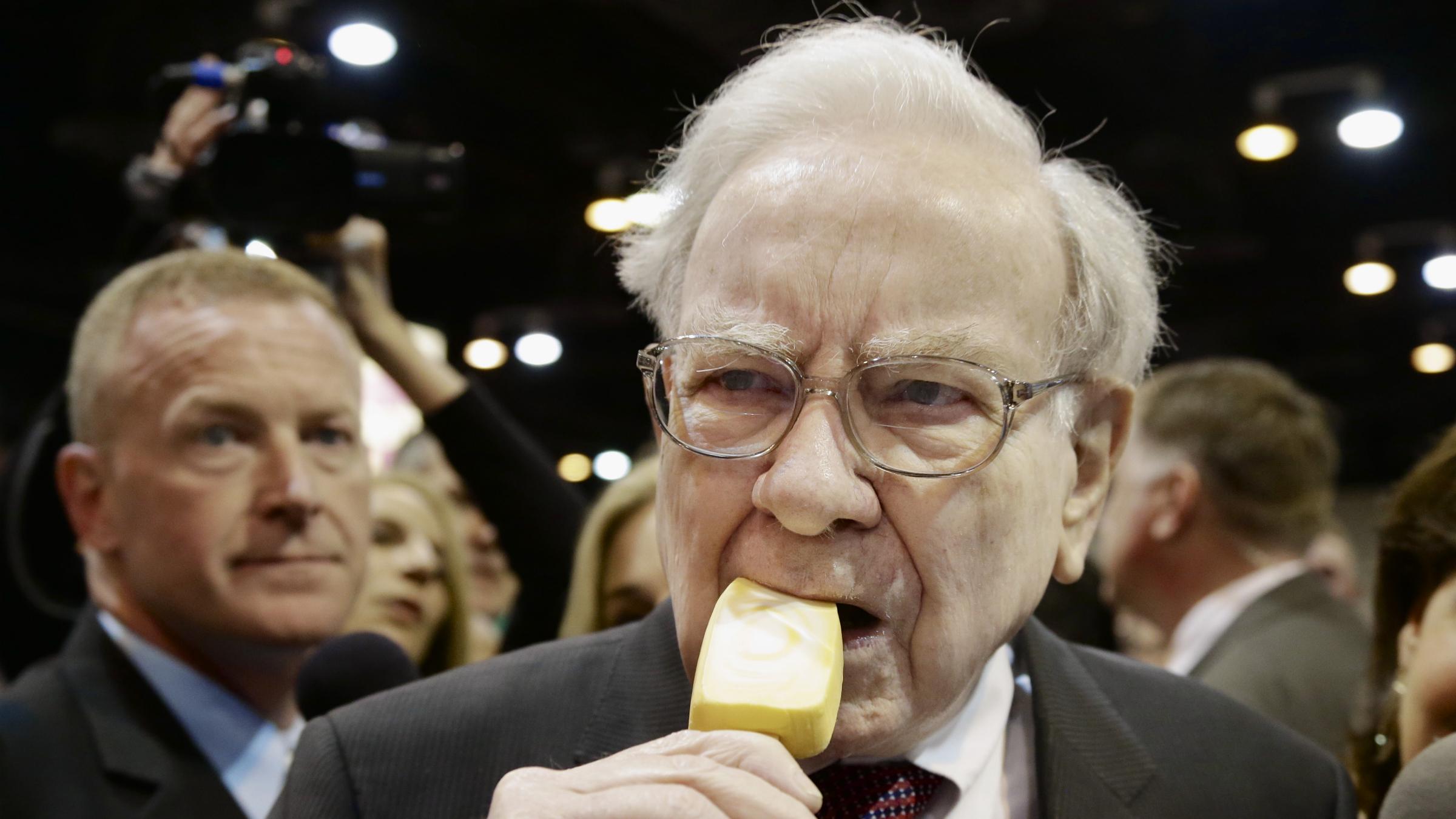 Warren Buffett Berkshire Hathaway popsicle