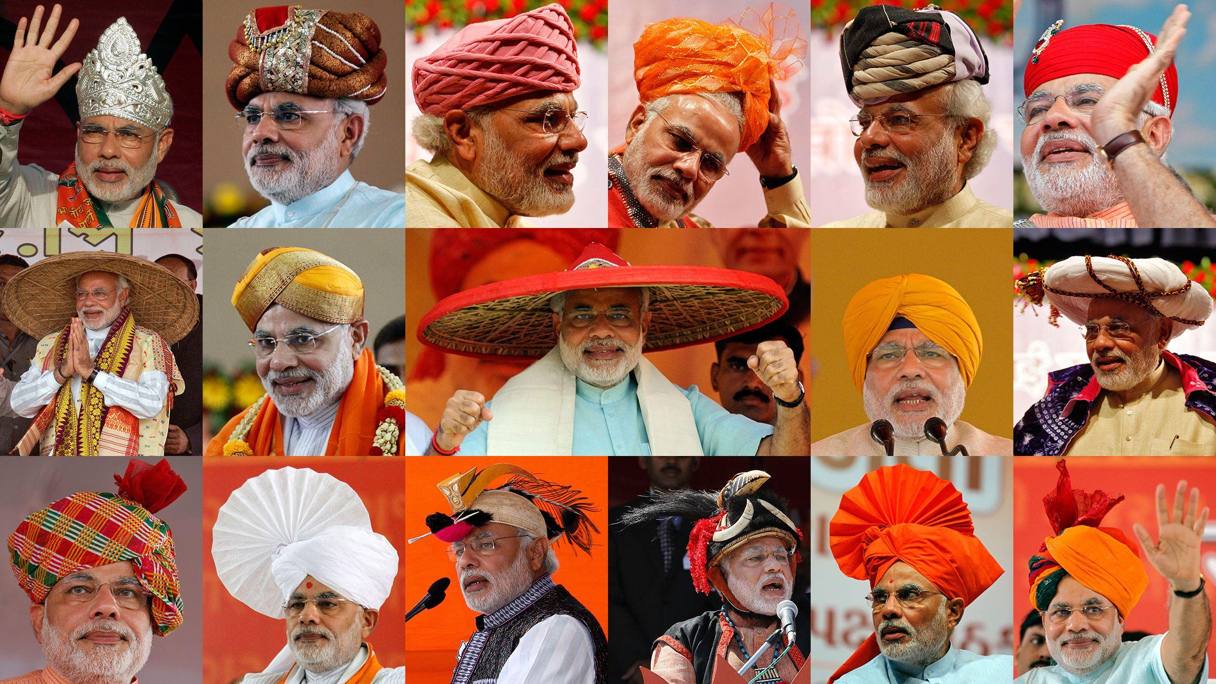 modi, hats, fashion