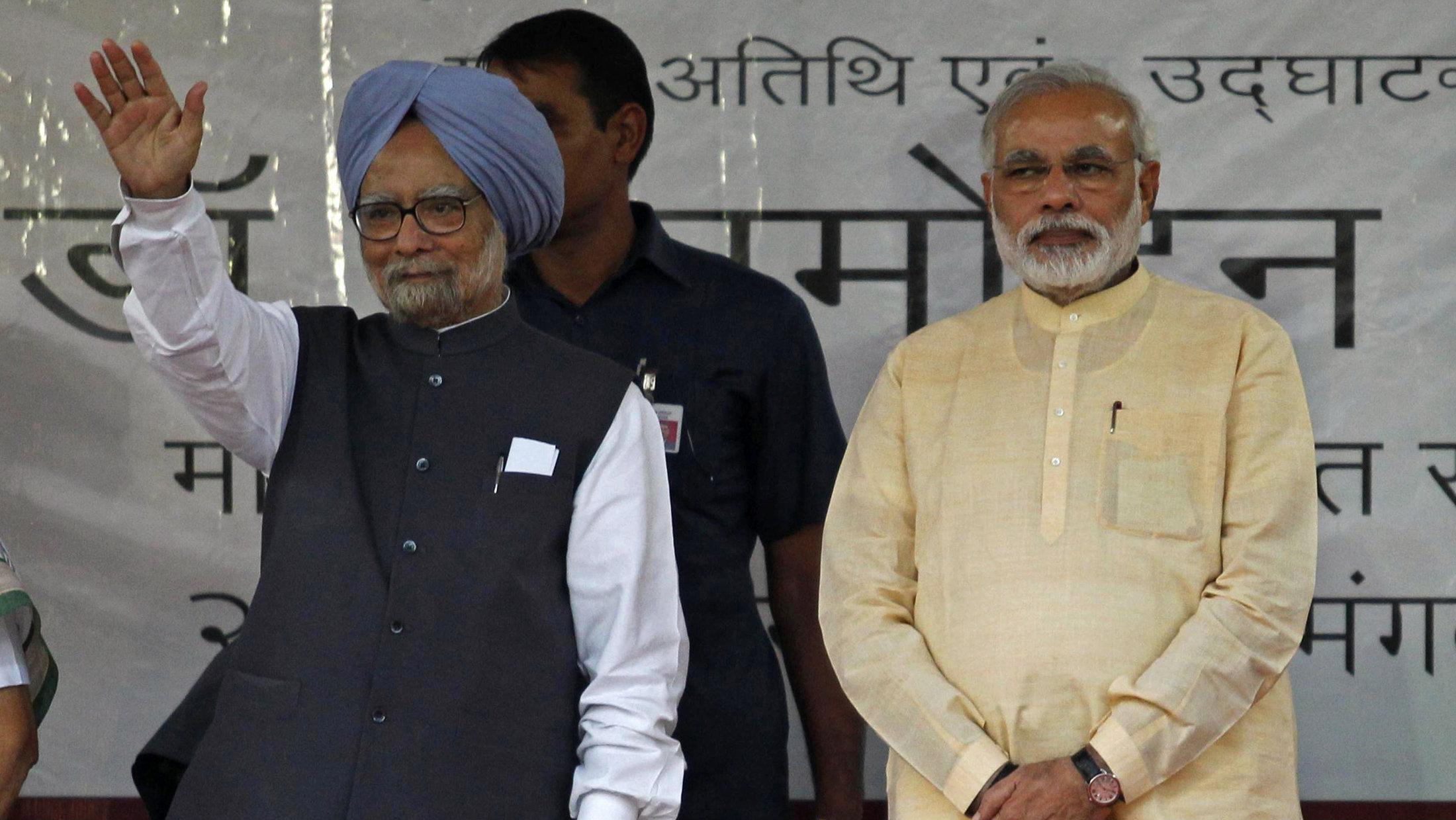 """Wave goodbye to all those followers, Modi."""