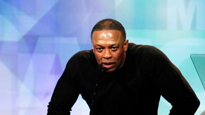 Dr. Dre speaks at the 24th annual ASCAP Rhythm and Soul Music Awards in Beverly Hills