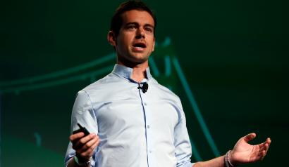 Twitter and Square Founder Jack Dorsey speaks at TechCrunch Disrupt SF 2012 in San Francisco