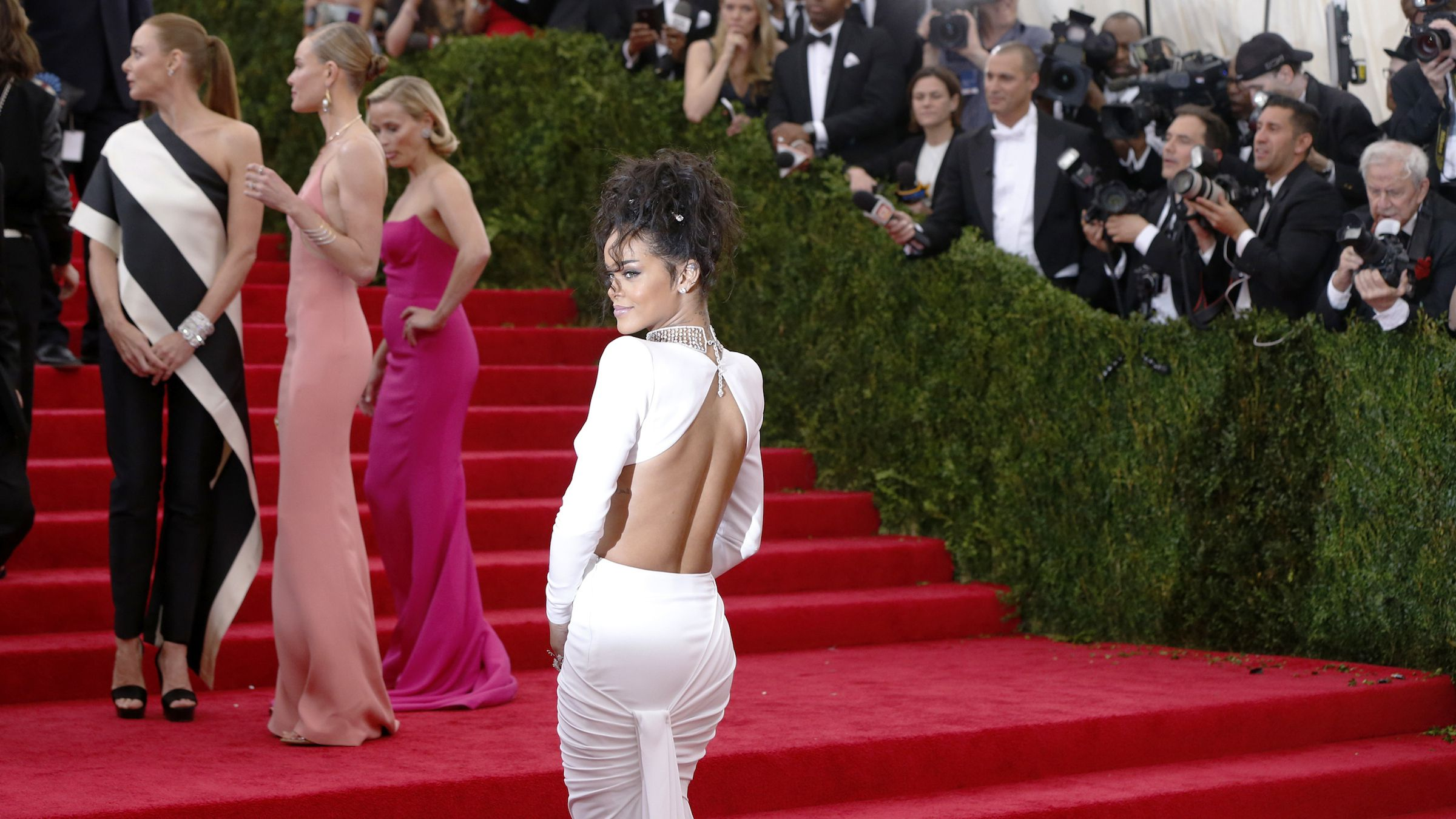 Rihanna at the Met opening. Check out these other exhibits and don't look back.