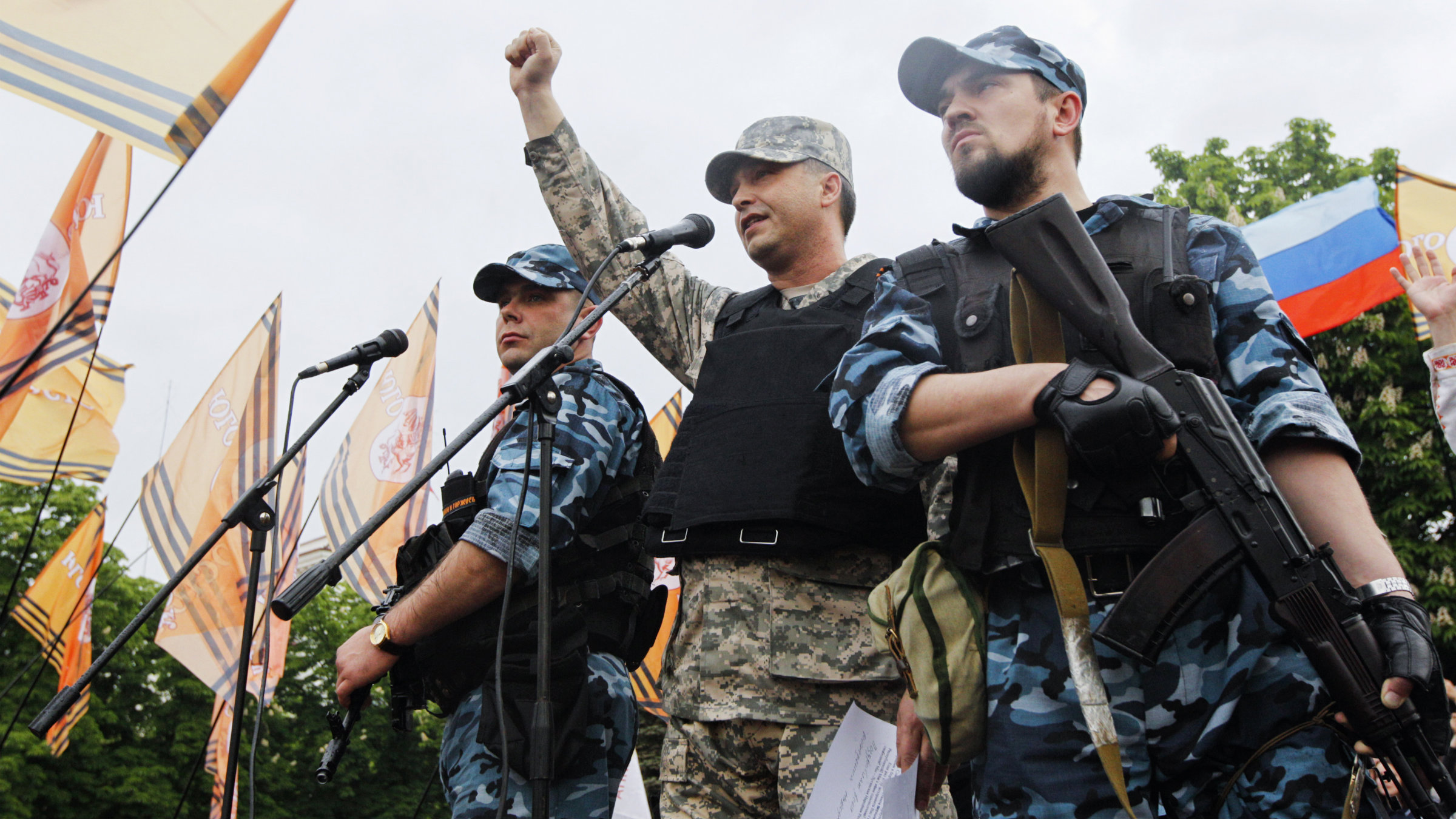 Separatists in Luhansk want the region, and its manufacturing base, out of Kyiv's control.