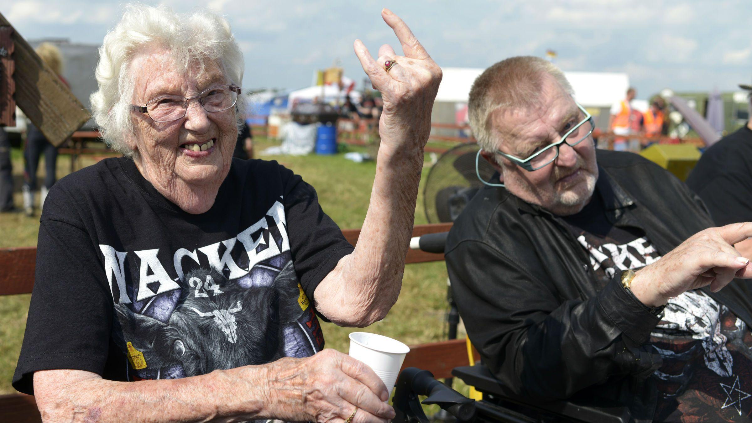 heavy metal rockers