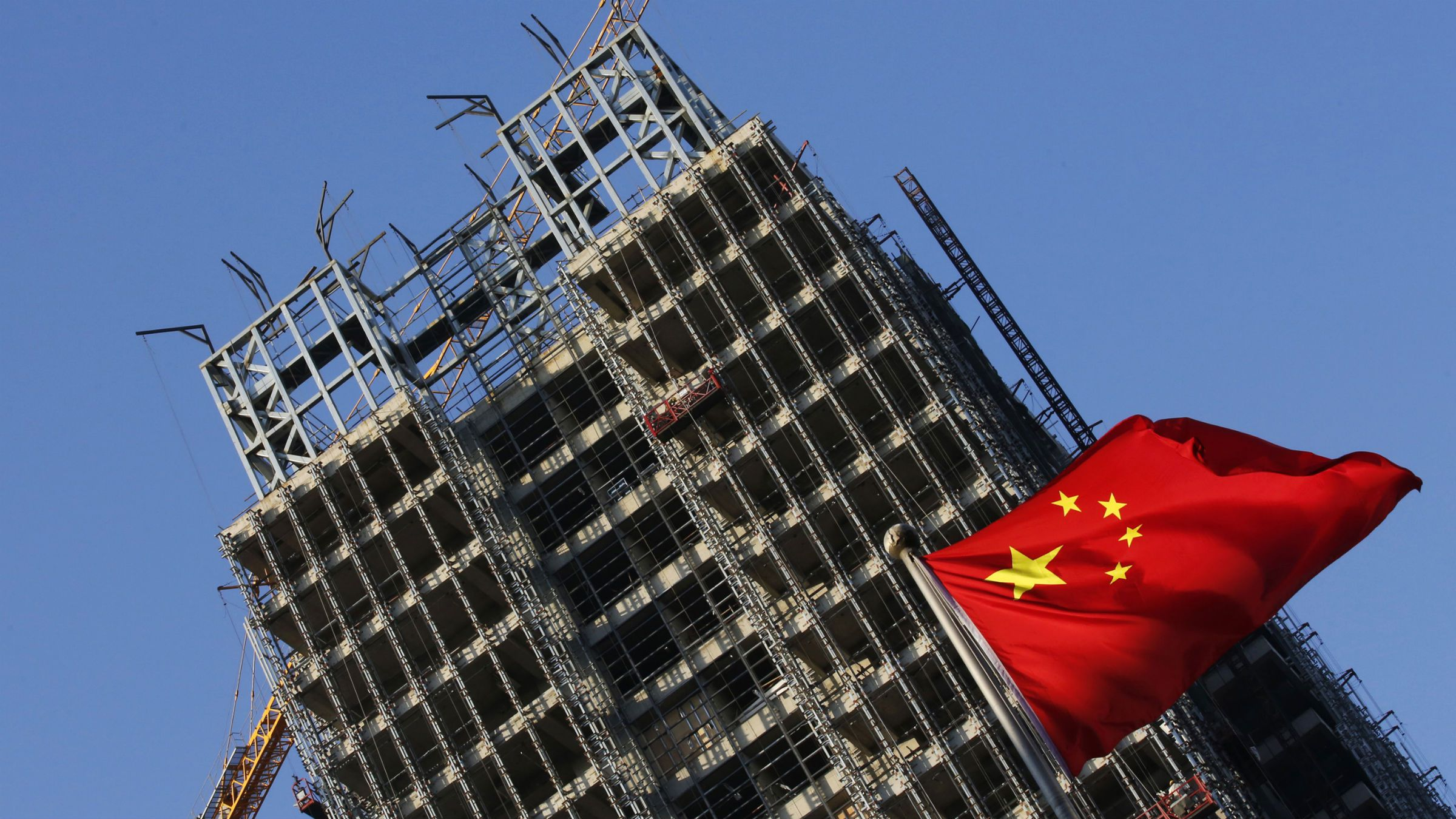 Chinese construction bust