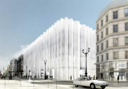 Samaritaine Paris rendering