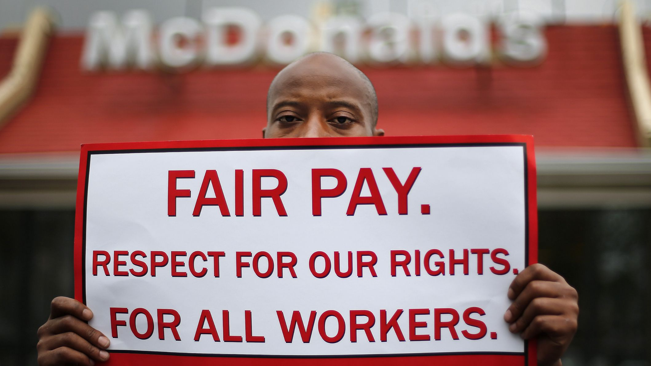 US workers pay