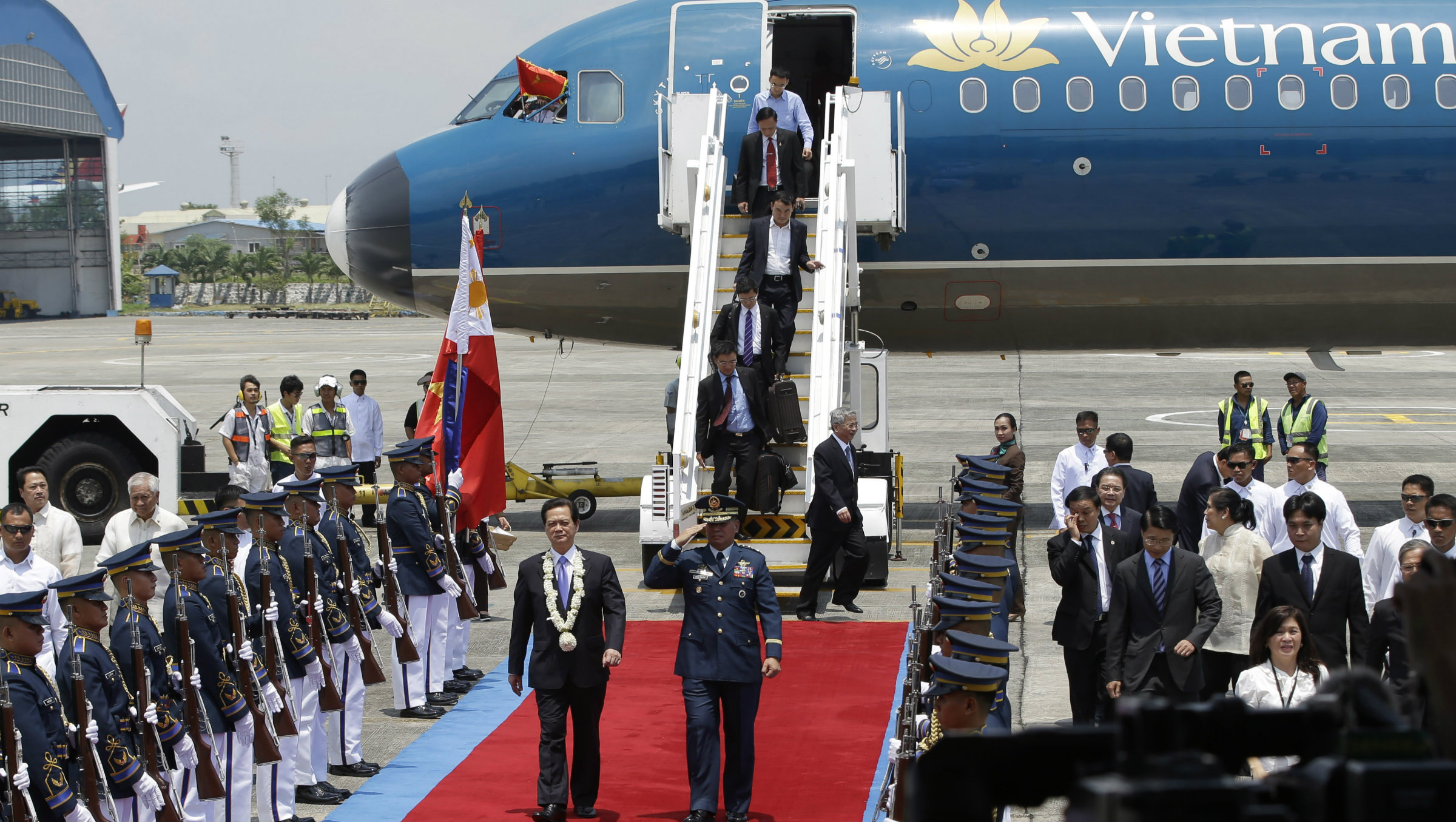 Vietnam's prime minister arrives in the Philippines this week.