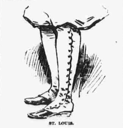 Drawing of lady's legs in bikewear