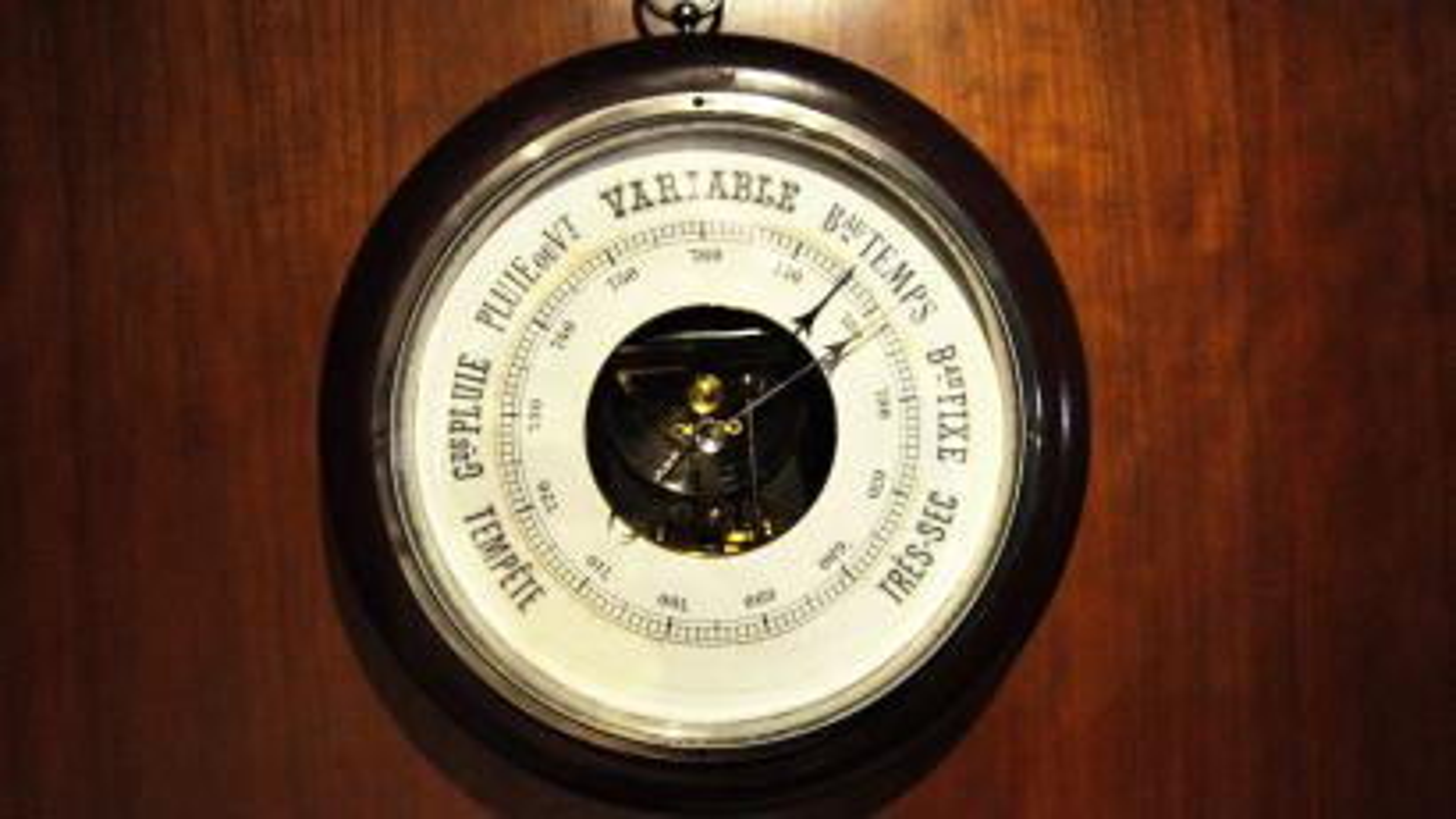 1890s Barometer