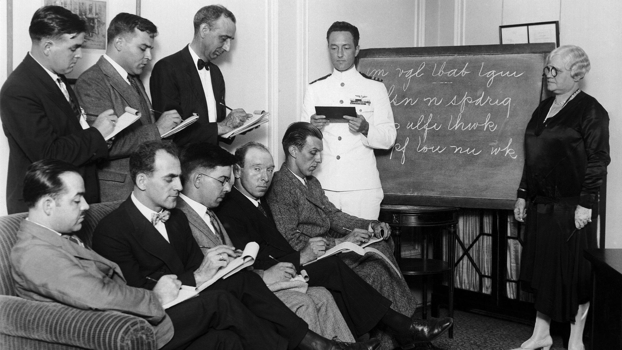 1928 speedwriting class