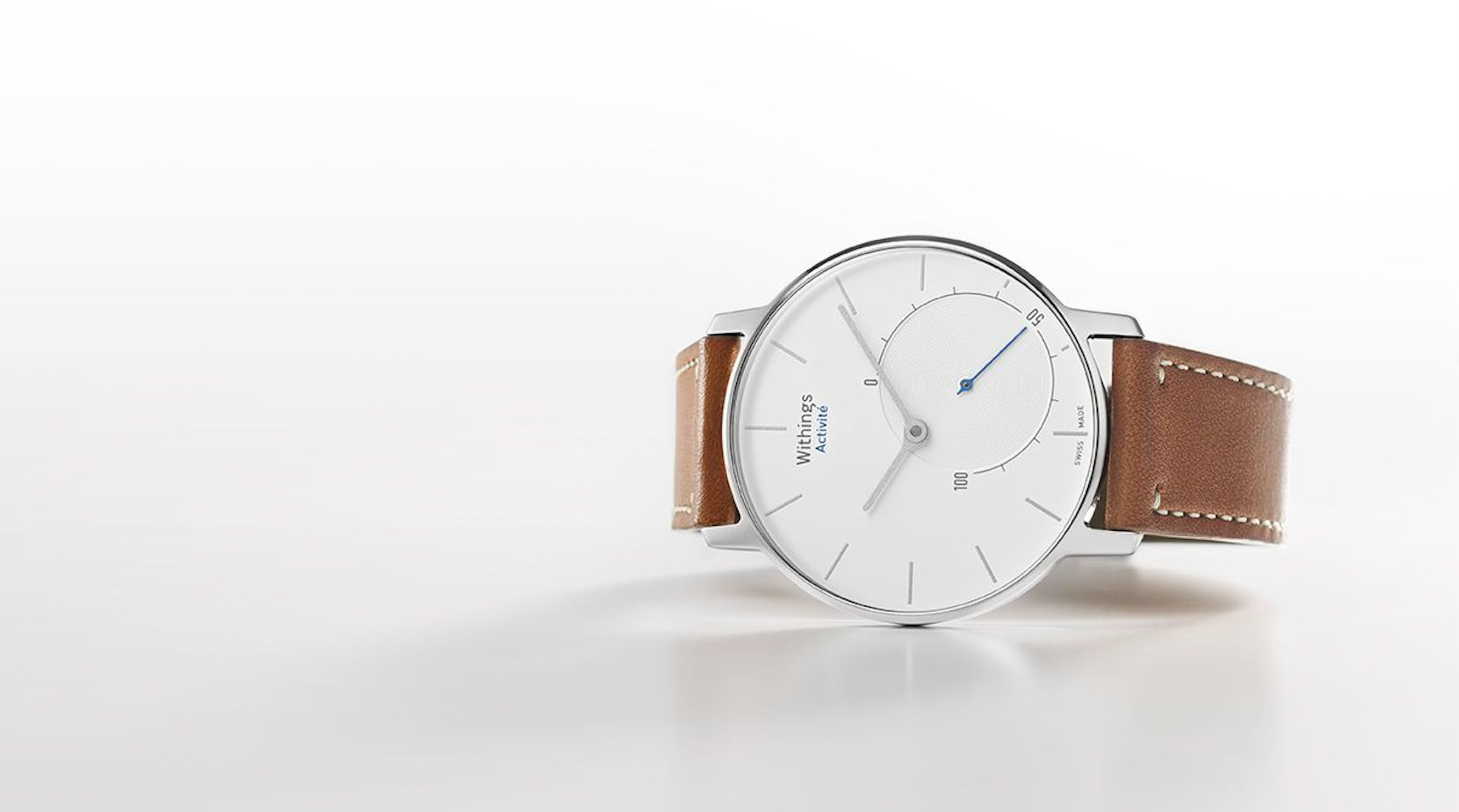 Withings Activité silver smartwatch