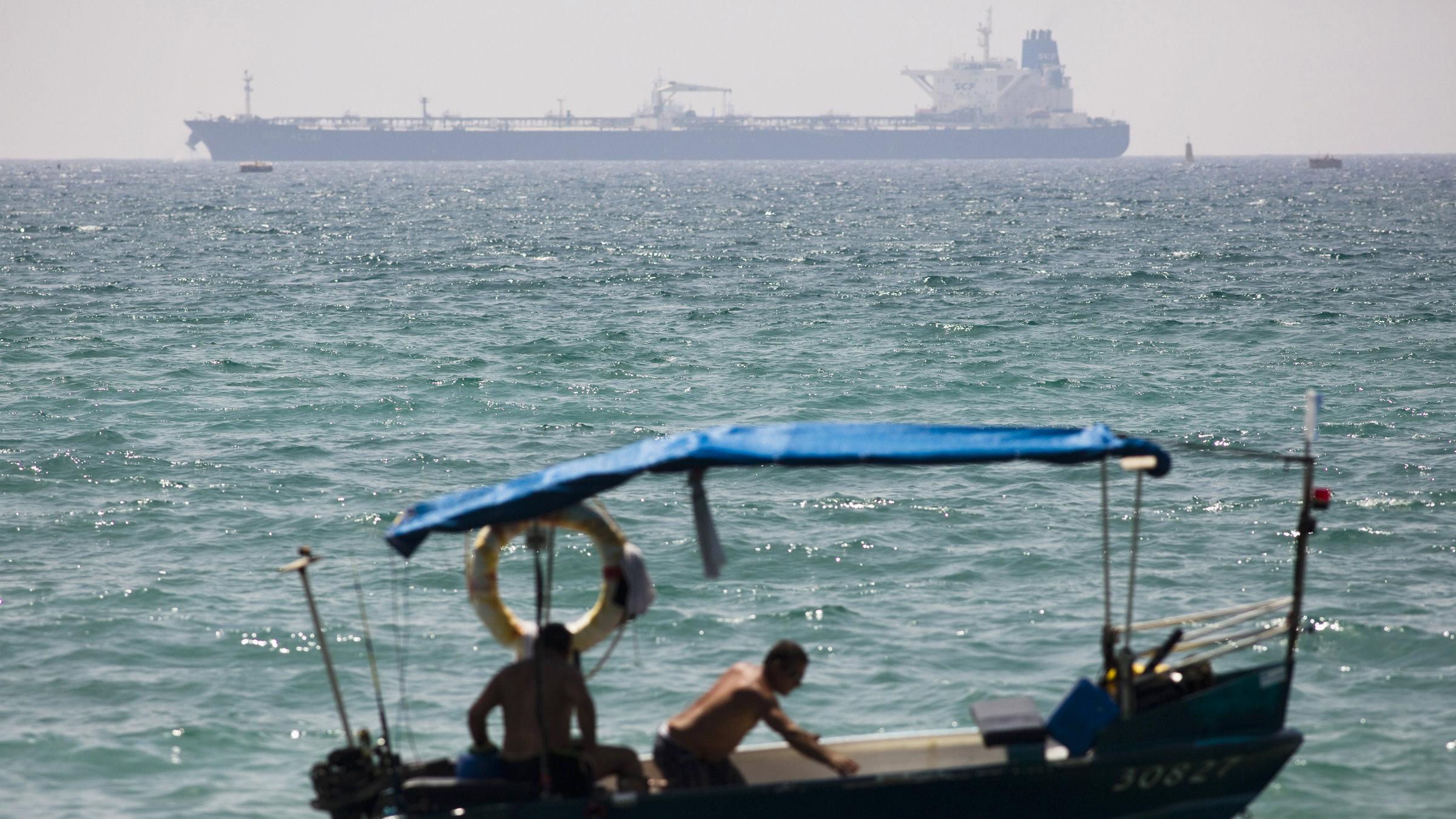 The SCF Altai docks at Ashkelon port in Israel with 1 million barrels of Kurdish crude oil.