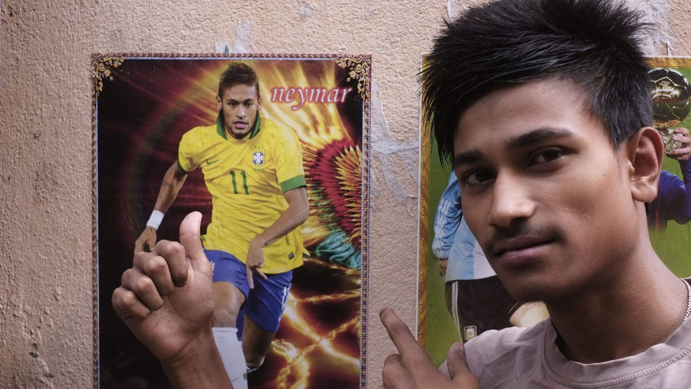 Kolkata-Brazil-Neymar