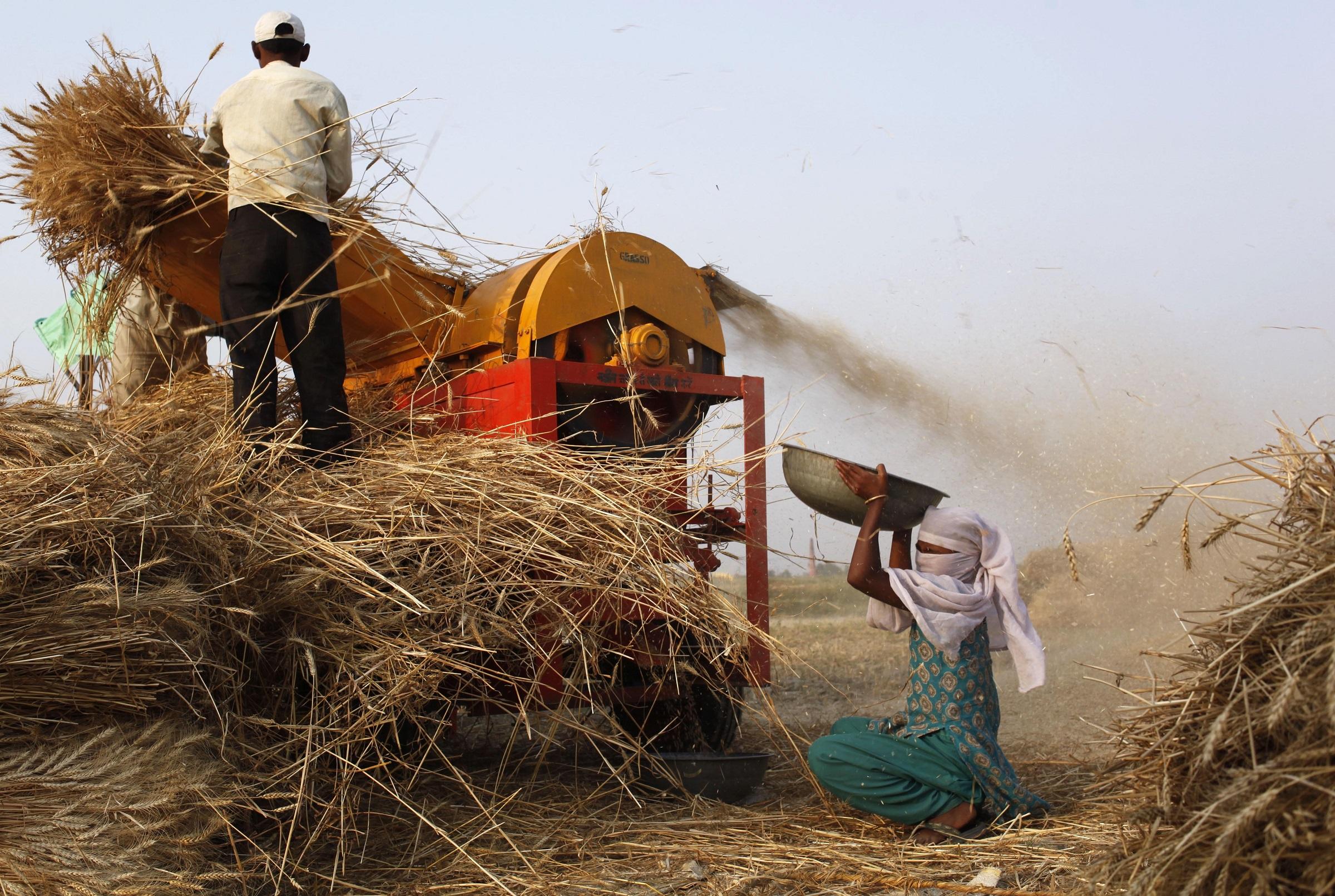Farm mechanization in India