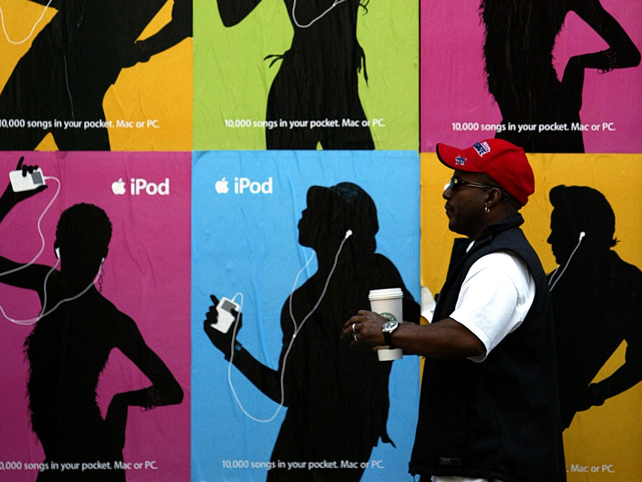 Apple iPod advertisement