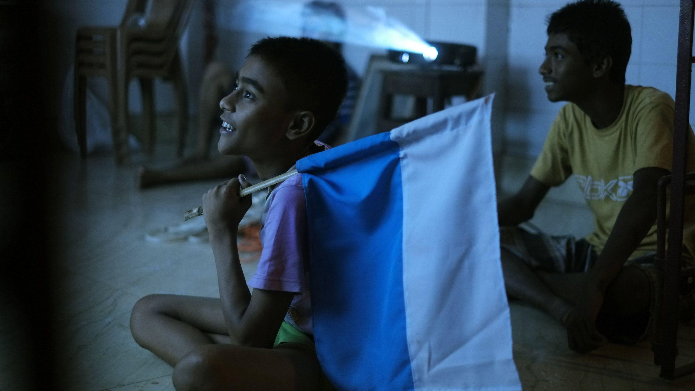 Argentina-Fan-Kolkata