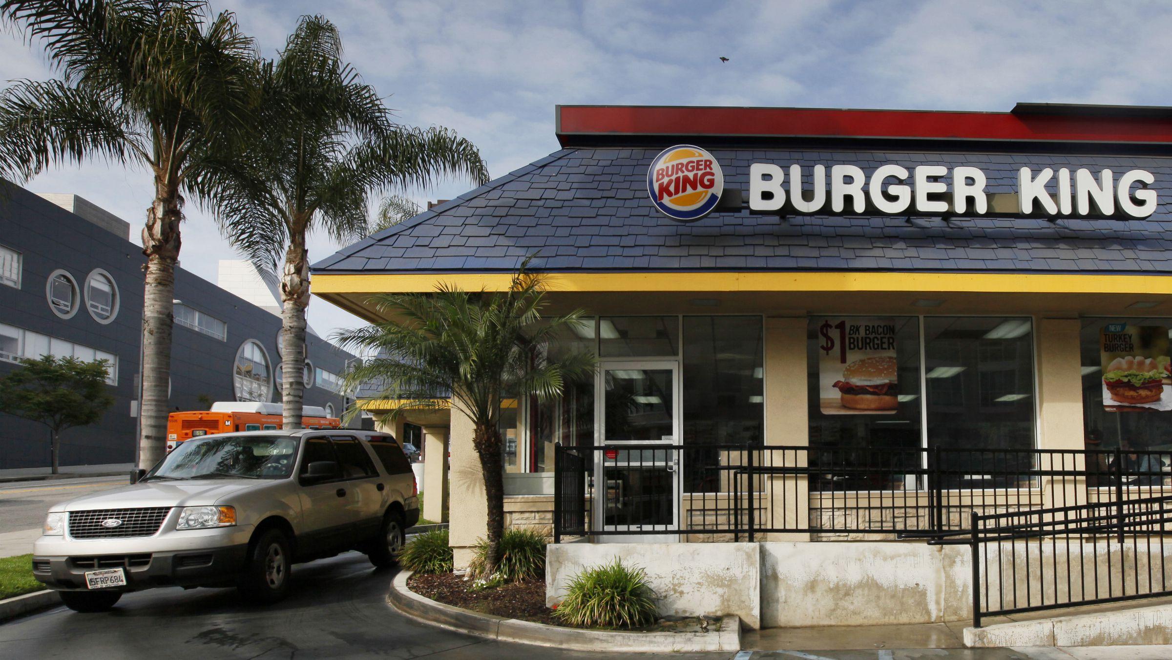 burger king market share mcdonald's hamburgers
